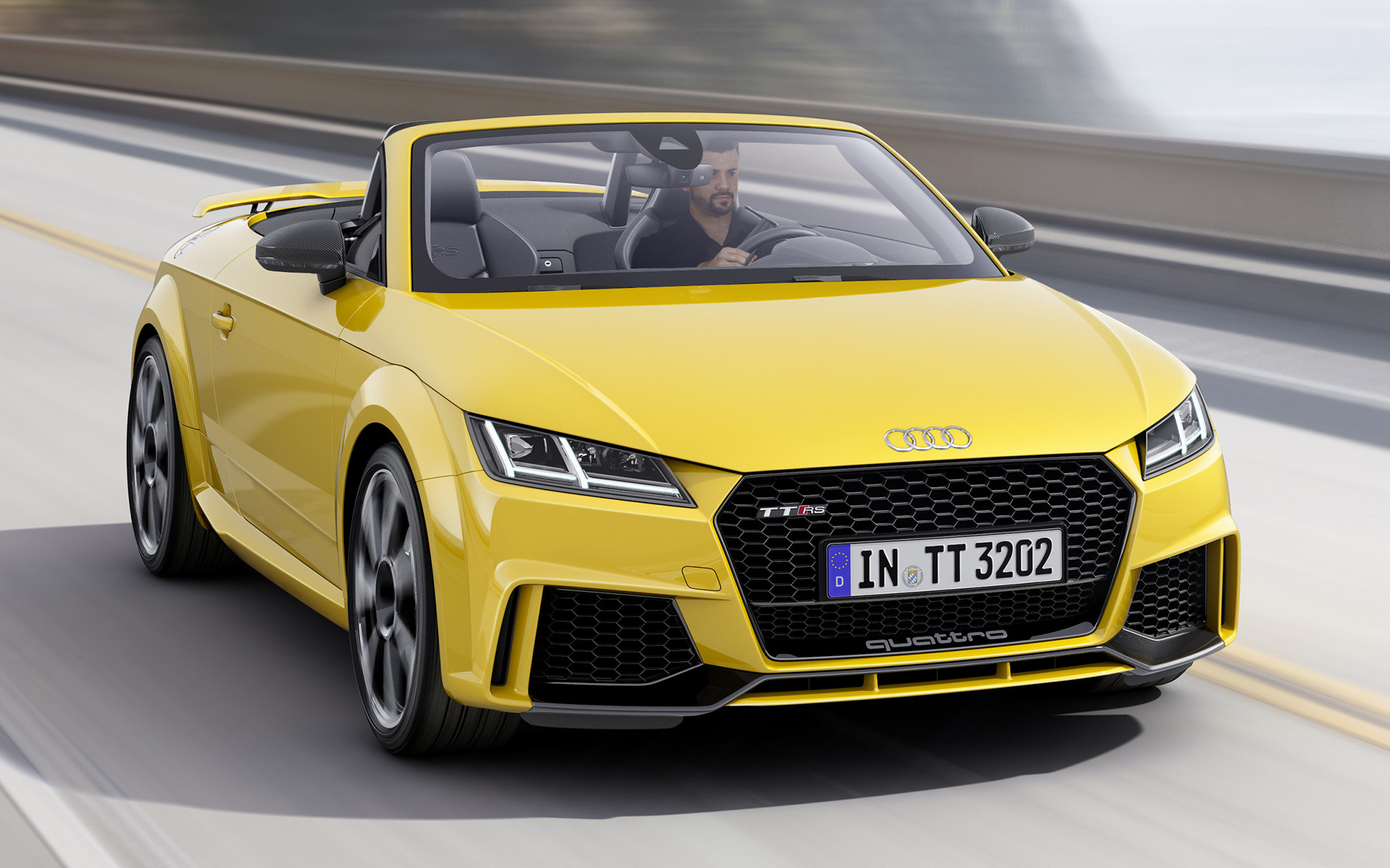 audi tt rs roadster (2016) wallpapers and hd images - car pixel