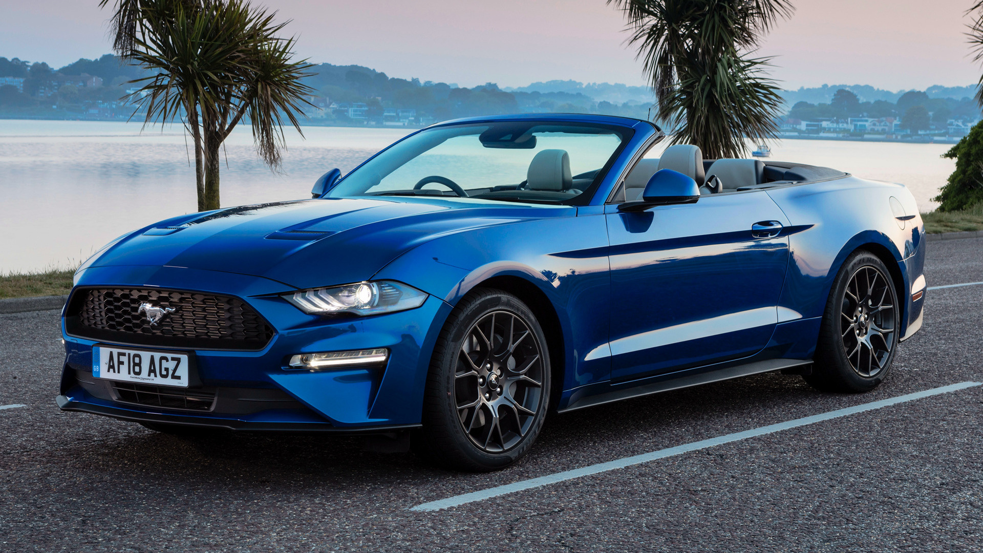 2018 Ford Mustang Convertible (UK) - Wallpapers and HD Images | Car Pixel