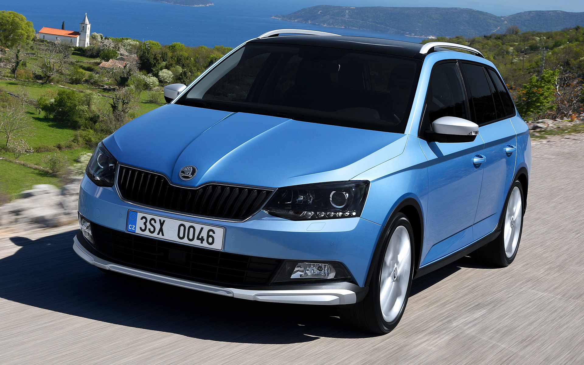 skoda fabia combi scoutline 2016 wallpapers and hd images car pixel. Black Bedroom Furniture Sets. Home Design Ideas