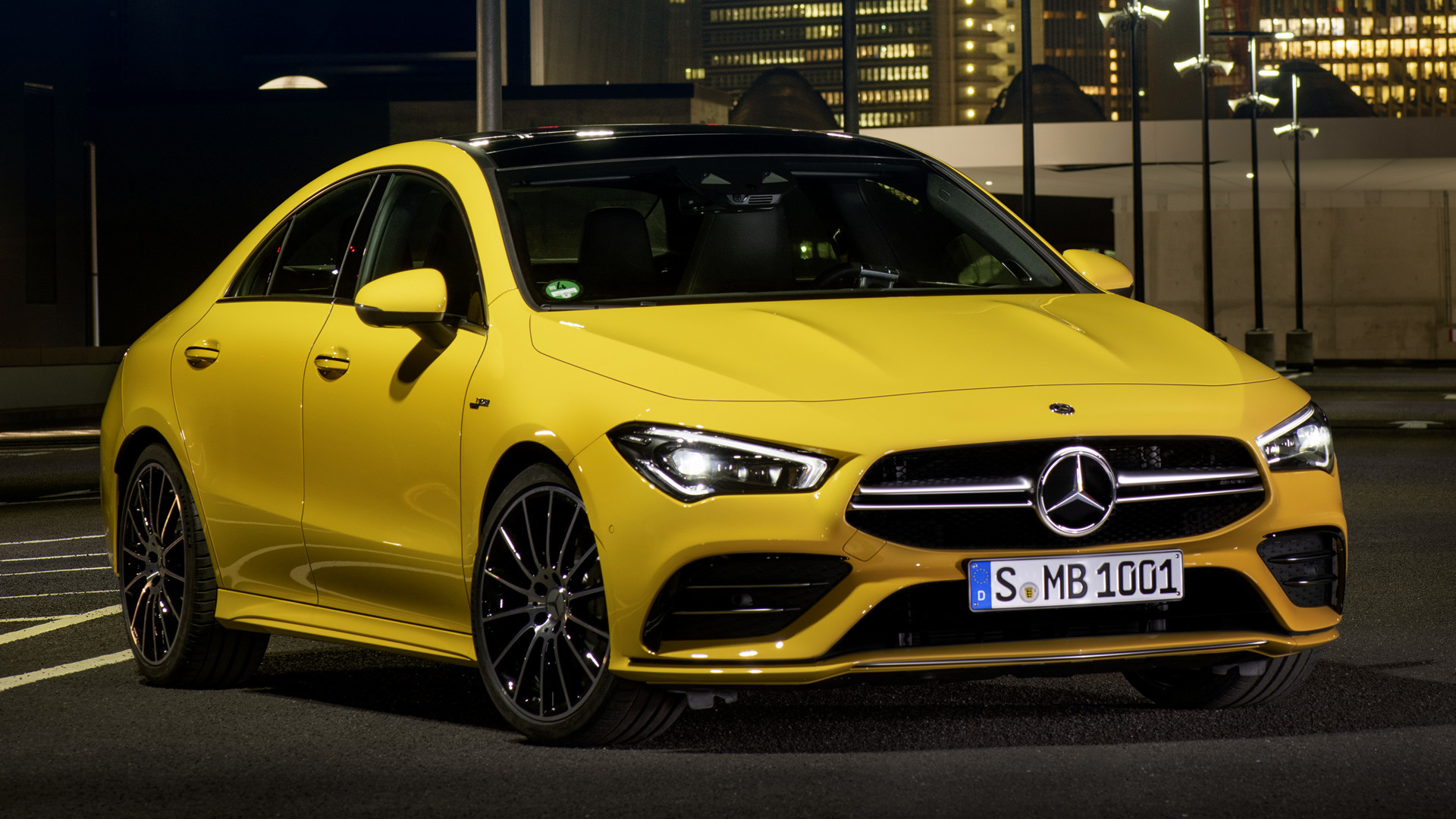 Mercedes Benz Cla 250 >> 2019 Mercedes-AMG CLA 35 - Wallpapers and HD Images | Car ...