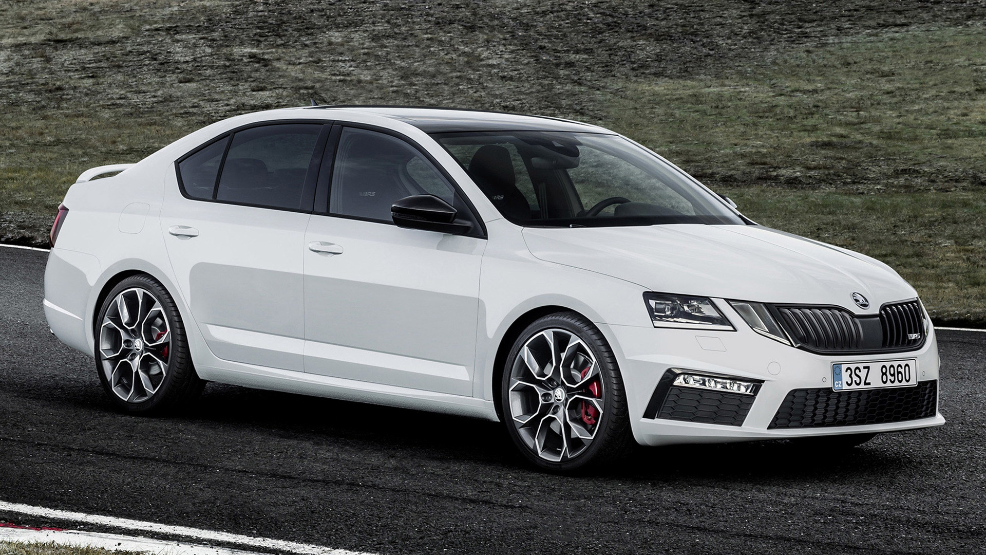 skoda octavia rs 2017 wallpapers and hd images car pixel. Black Bedroom Furniture Sets. Home Design Ideas
