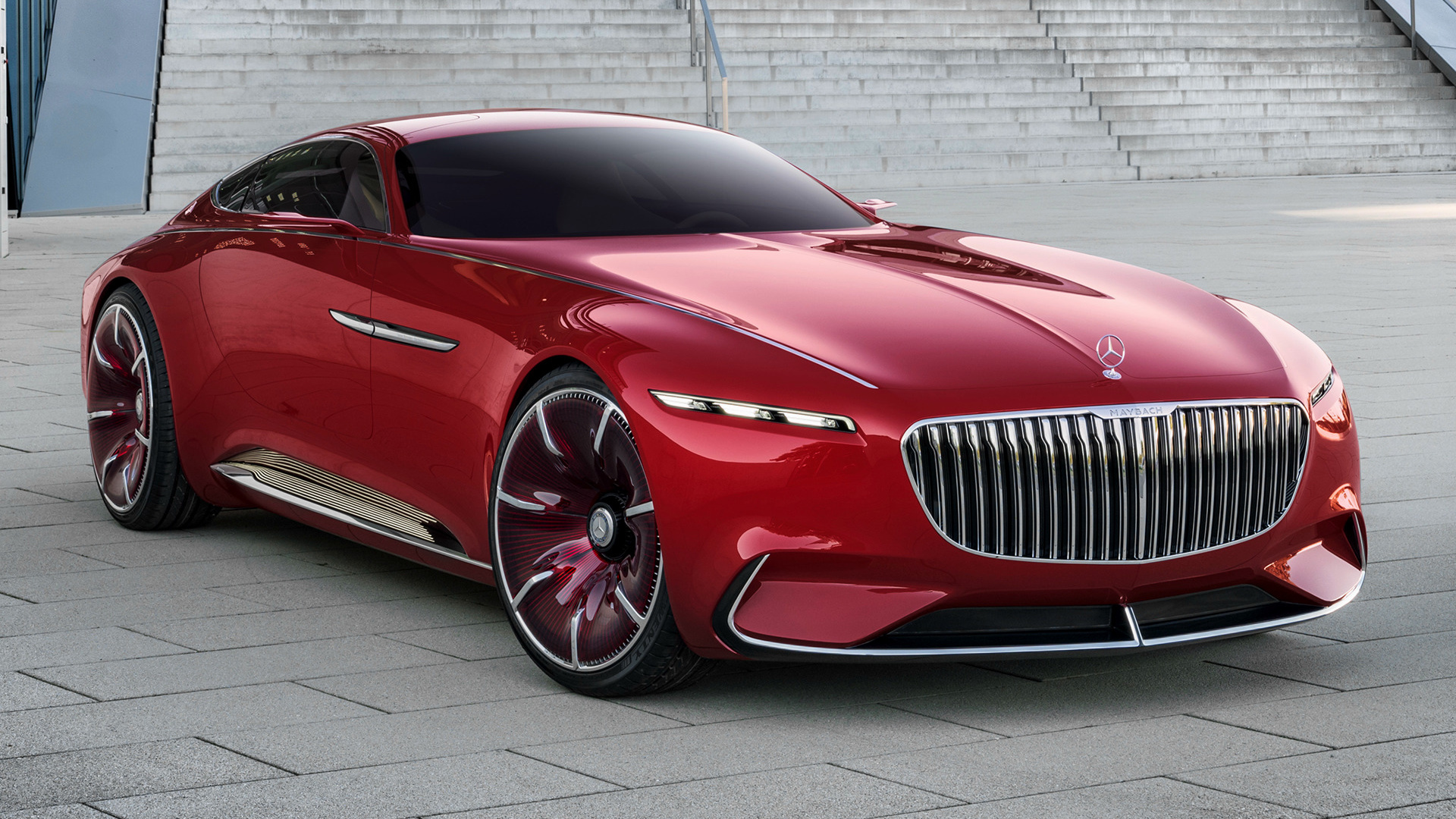 2016 vision mercedes maybach 6 wallpapers and hd images car pixel. Black Bedroom Furniture Sets. Home Design Ideas