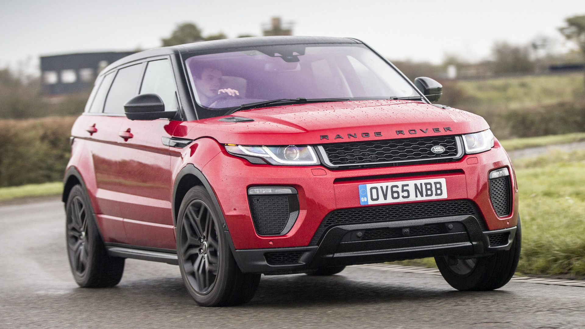 range rover evoque dynamic 2015 uk wallpapers and hd images car pixel. Black Bedroom Furniture Sets. Home Design Ideas