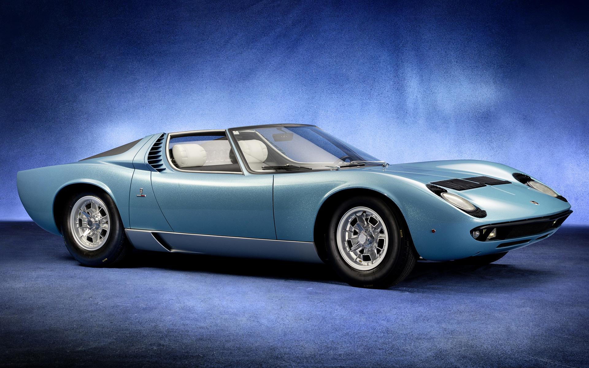 1968 Lamborghini Miura Roadster Wallpapers And Hd Images Car Pixel