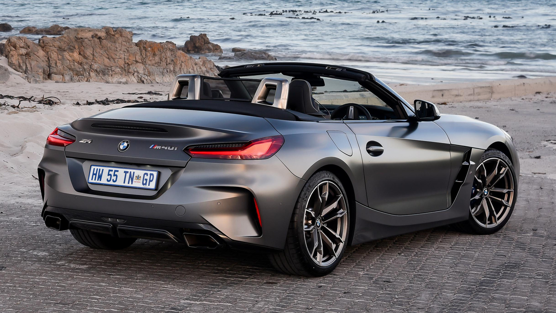 2019 Bmw Z4 M40i Za Wallpapers And Hd Images Car Pixel