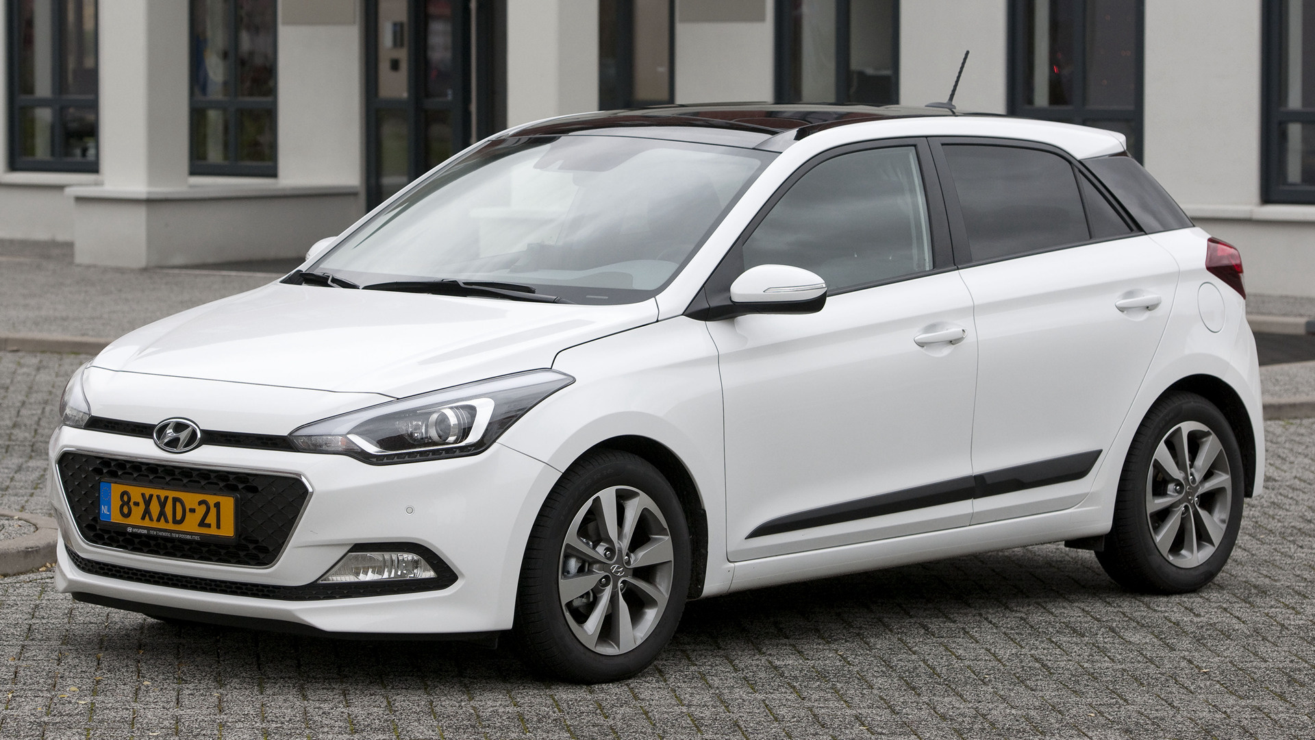 Hyundai i20 blue 2014 wallpapers and hd images car pixel