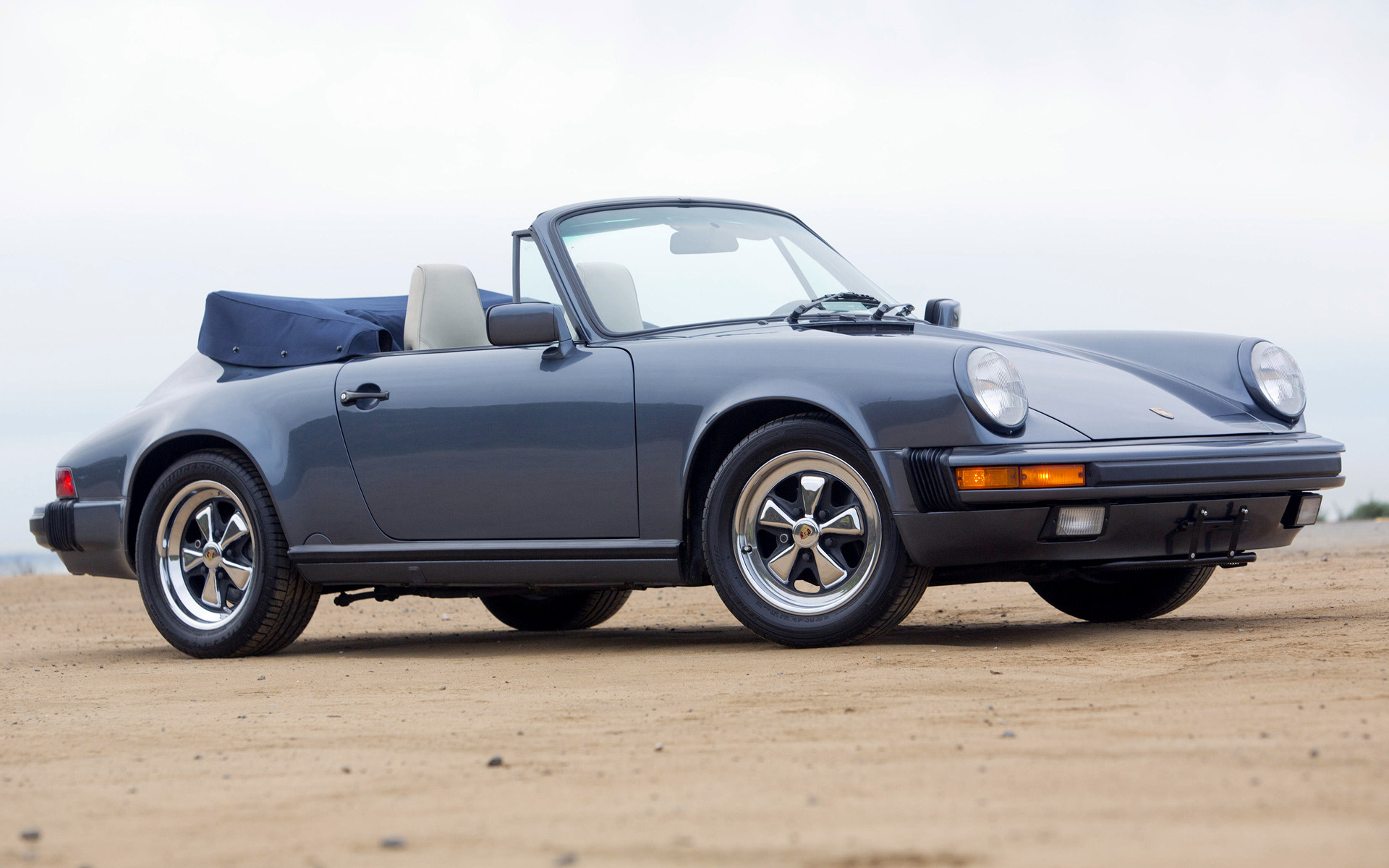 Porsche 911 Carrera Cabriolet 1985 Us Wallpapers And Hd