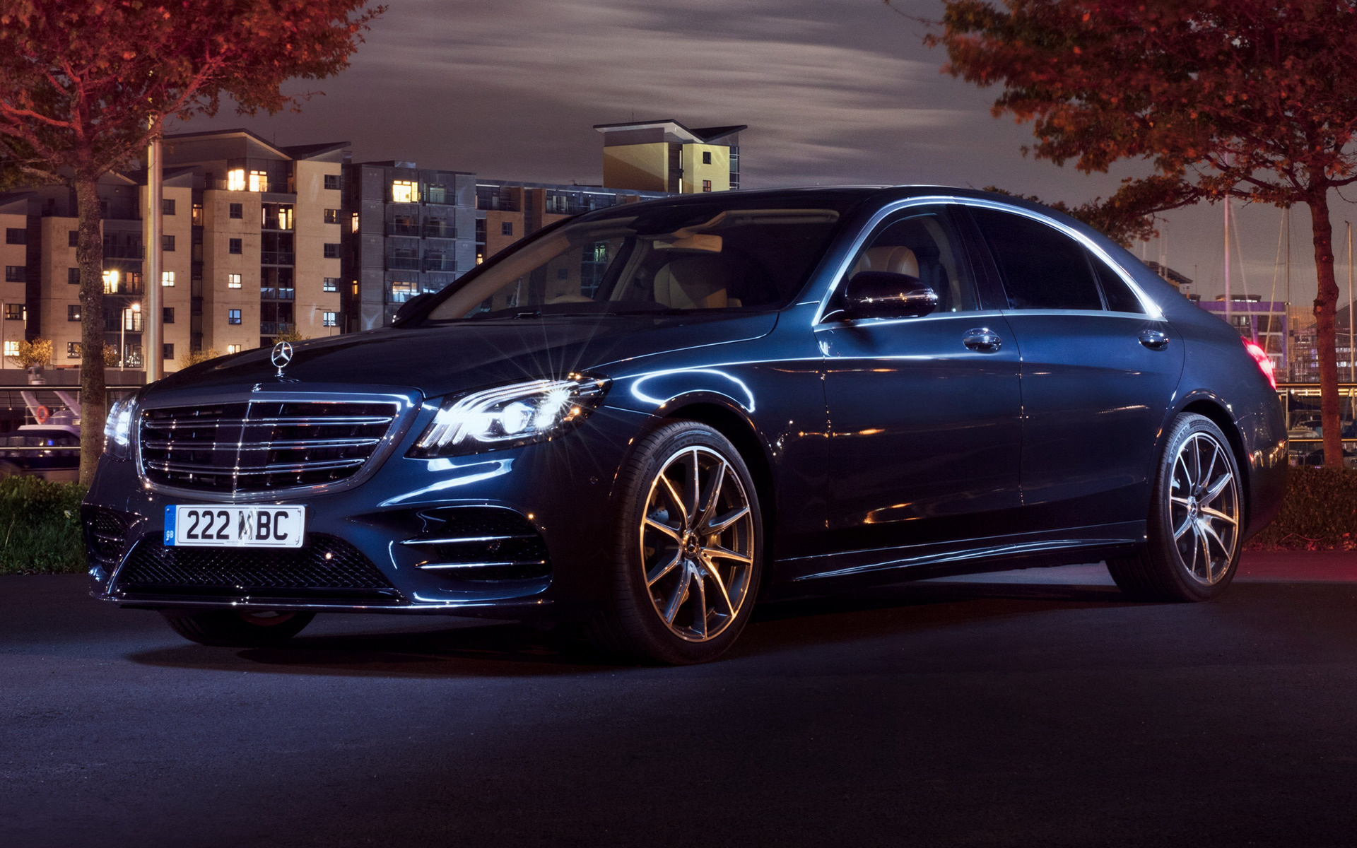 2017 Mercedes Benz S Class Amg Line Long Uk
