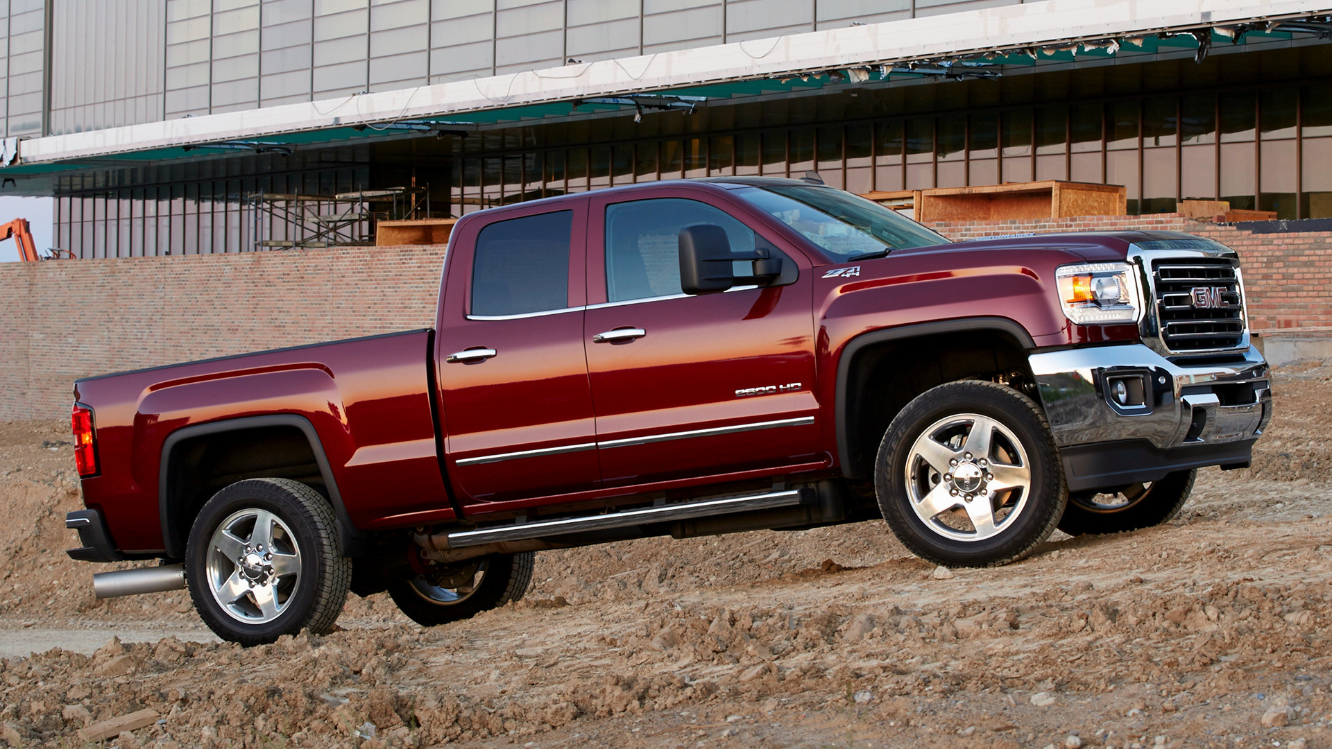 2015 GMC Sierra 2500 HD SLT Double Cab - Wallpapers and HD ...