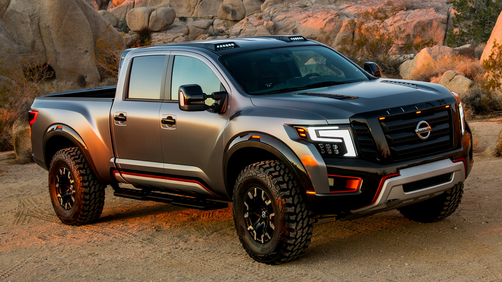 2016 Ford Trucks >> Nissan Titan Warrior Concept (2016) Wallpapers and HD ...
