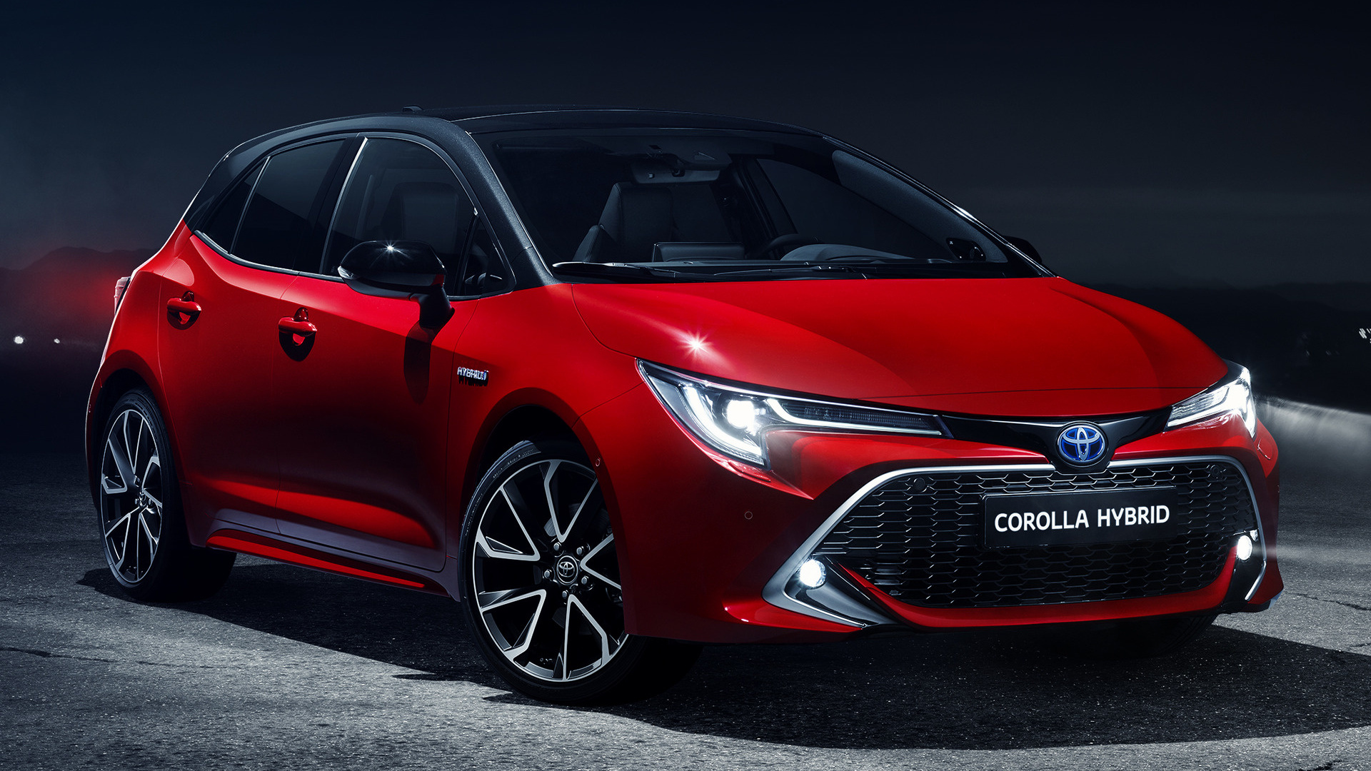2019 Toyota Corolla Hybrid Wallpapers And Hd Images