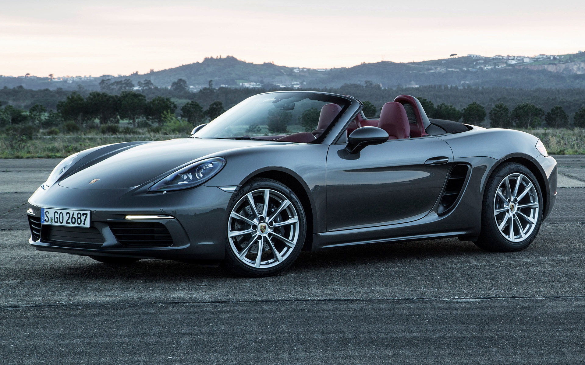 2016 Porsche 718 Boxster Wallpapers And Hd Images Car Pixel