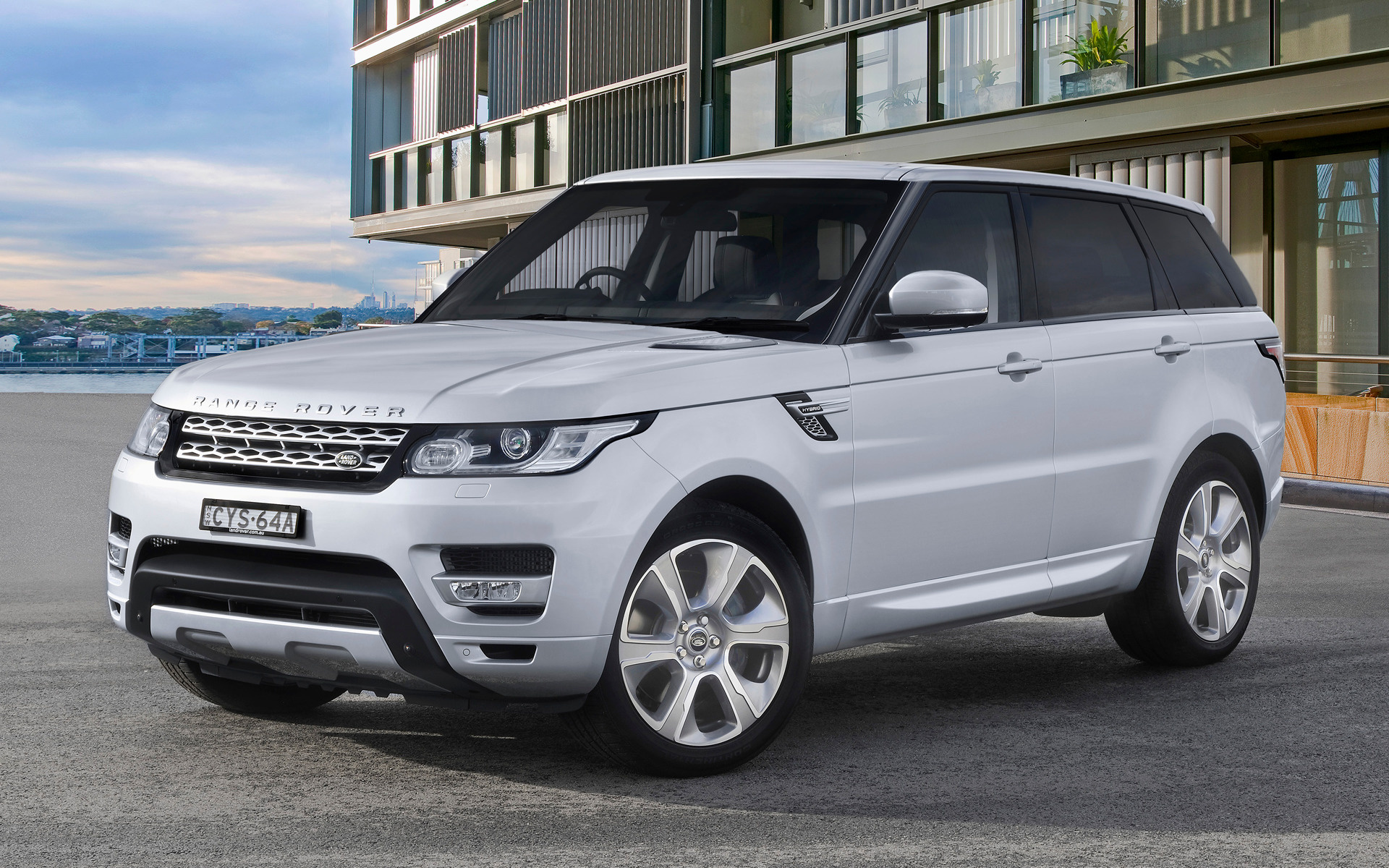 range rover sport hybrid autobiography 2015 au wallpapers and hd images car pixel. Black Bedroom Furniture Sets. Home Design Ideas