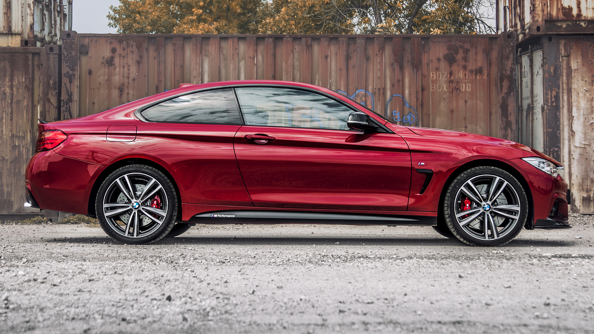 2016 Bmw 4 Series Coupe M Performance Red Edition