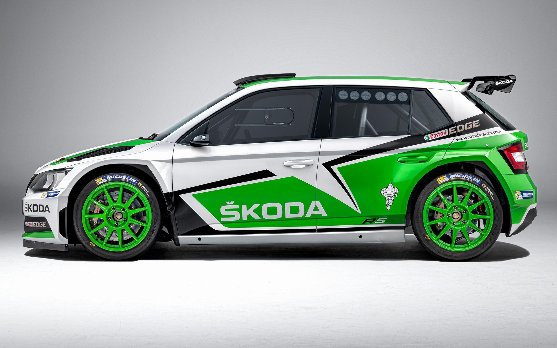 2015 Skoda Fabia R5 Wallpapers And Hd Images Car Pixel