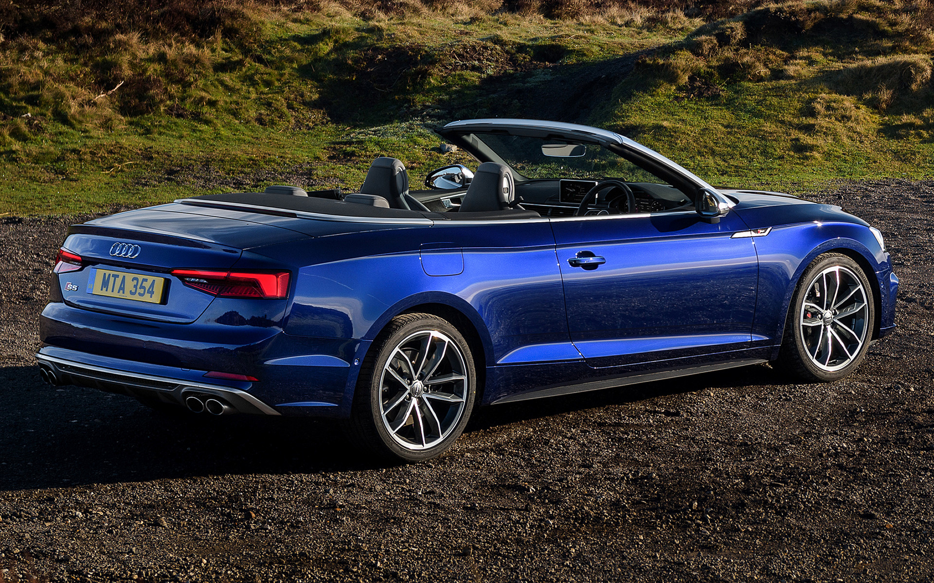 Audi S Cabriolet Car Wallpaper