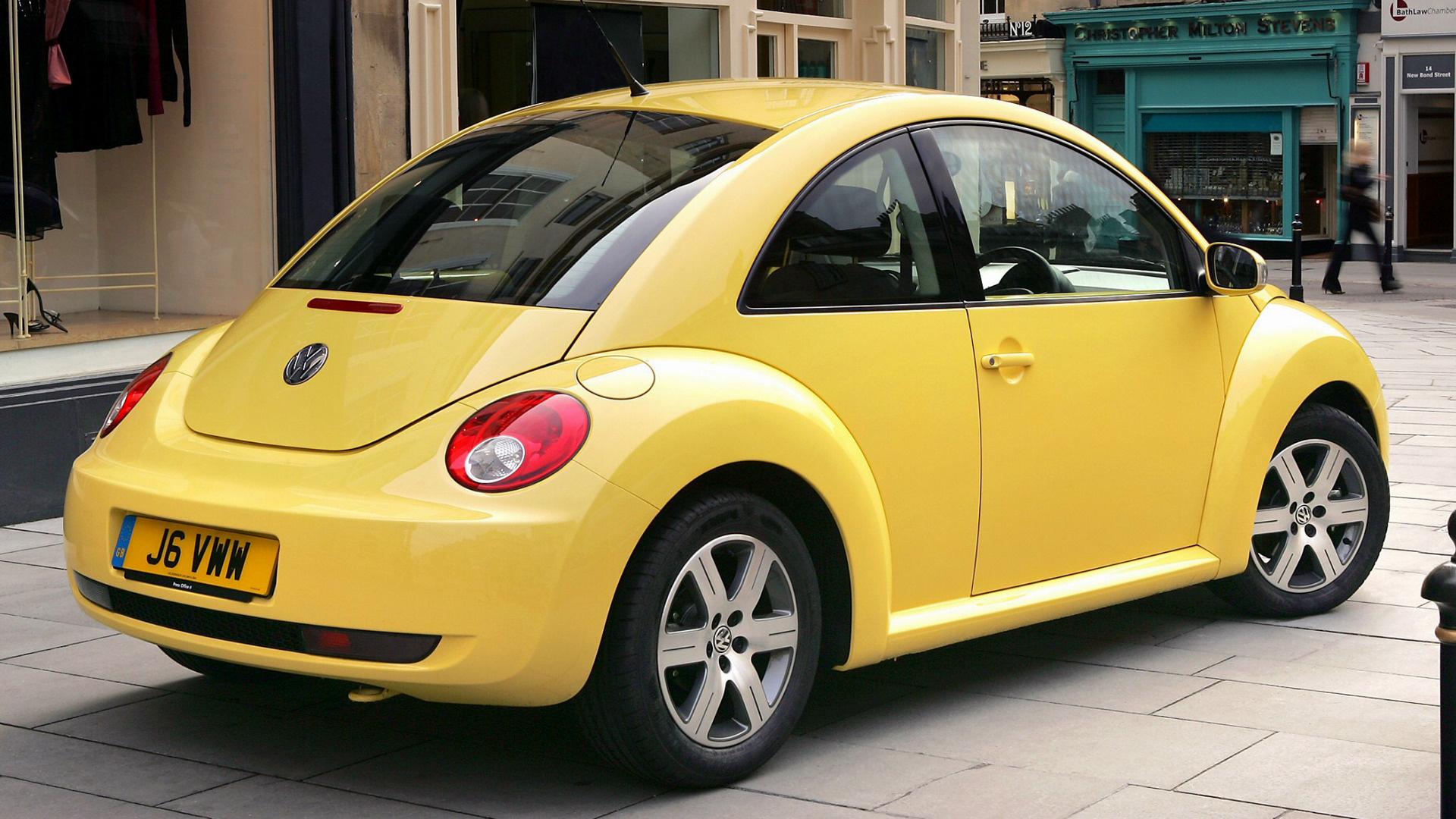 Volkswagen Beetle Convertible >> 2005 Volkswagen New Beetle (UK) - Wallpapers and HD Images ...