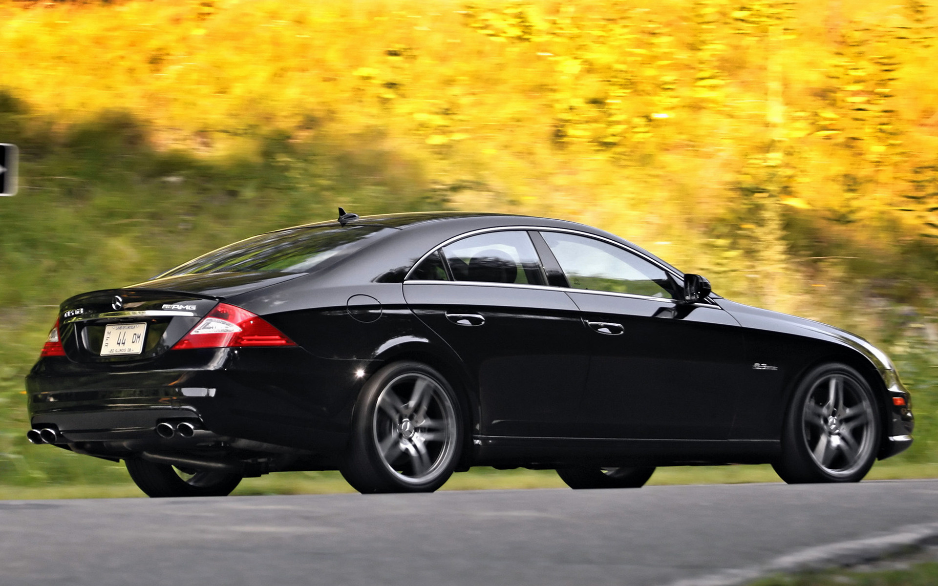 2008 Mercedes Benz Cls 63 Amg Us Wallpapers And Hd Images Car