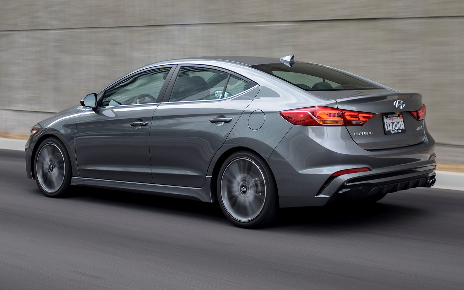 Hyundai Elantra Sport 2017 Us Wallpapers And Hd Images