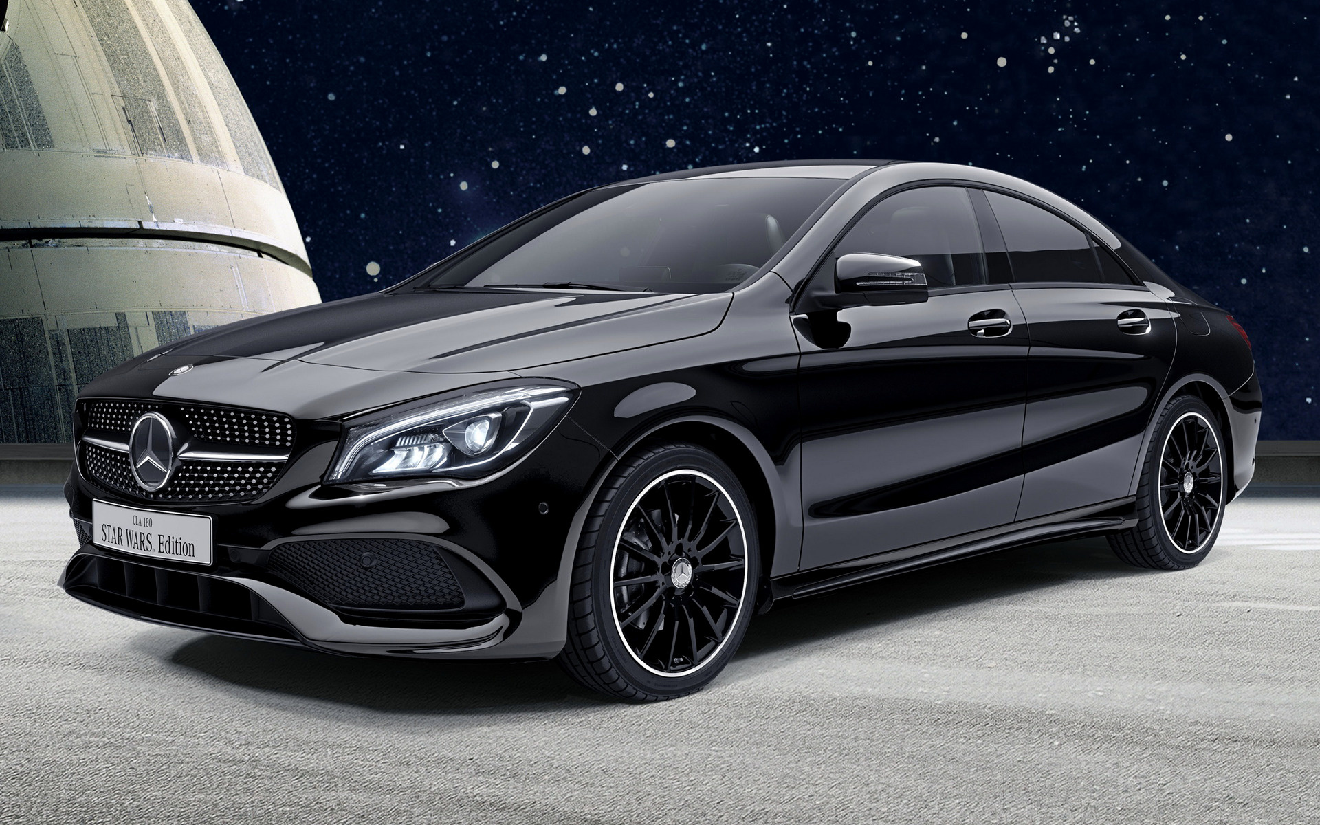 2016 Land Rover >> 2017 Mercedes-Benz CLA-Class Star Wars Edition (JP) - Wallpapers and HD Images | Car Pixel