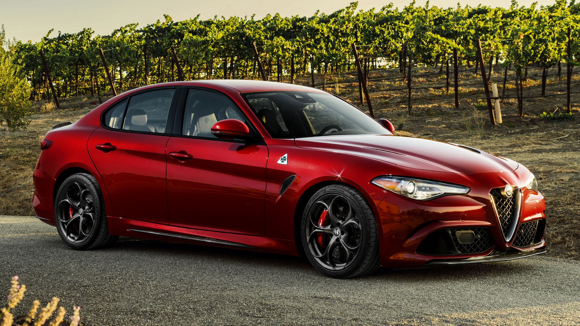2017 Alfa Romeo Giulia Quadrifoglio Us Wallpapers And Hd