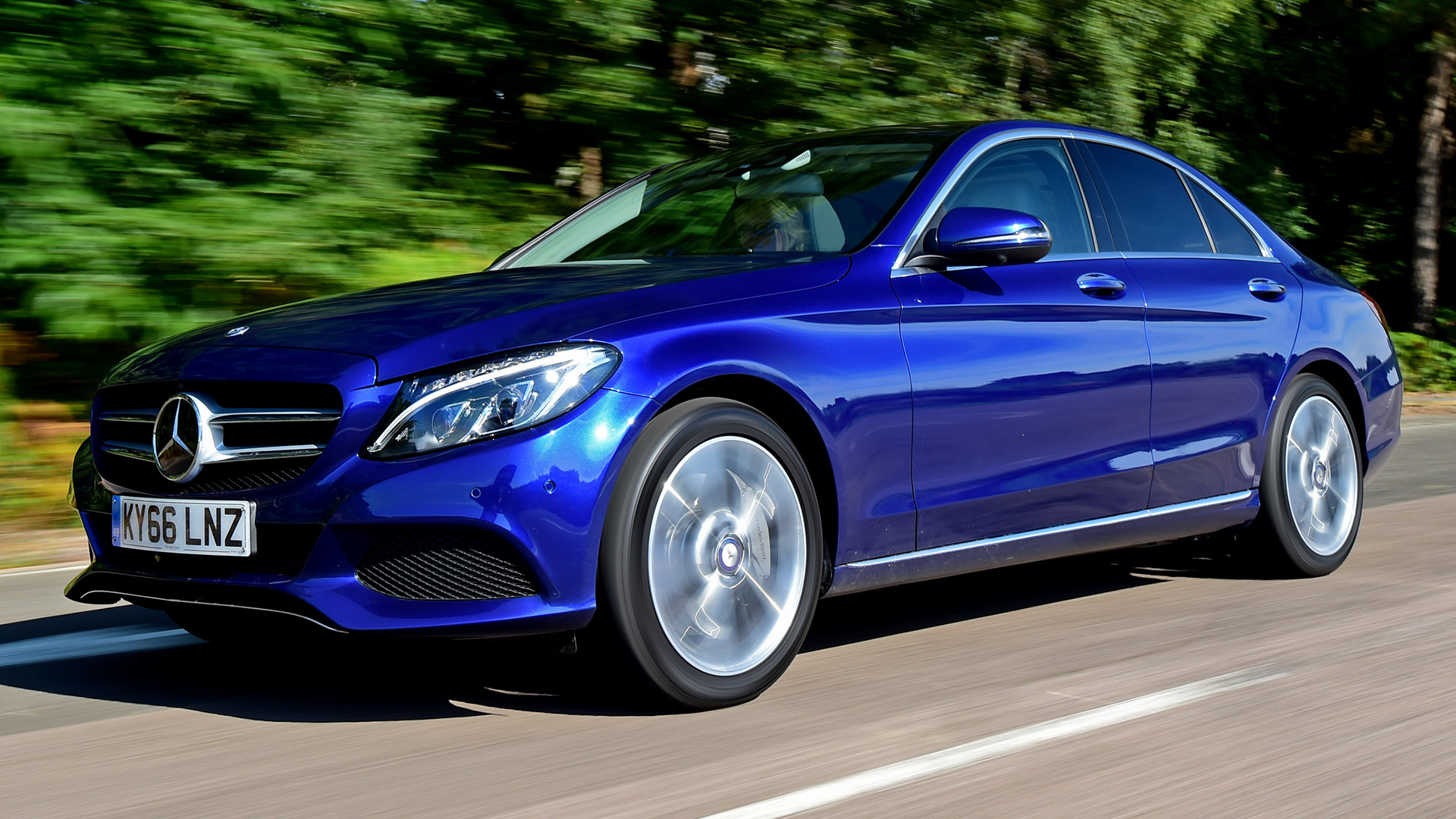 2016 Mercedes-Benz C-Class Plug-In Hybrid (UK) - Wallpapers and HD