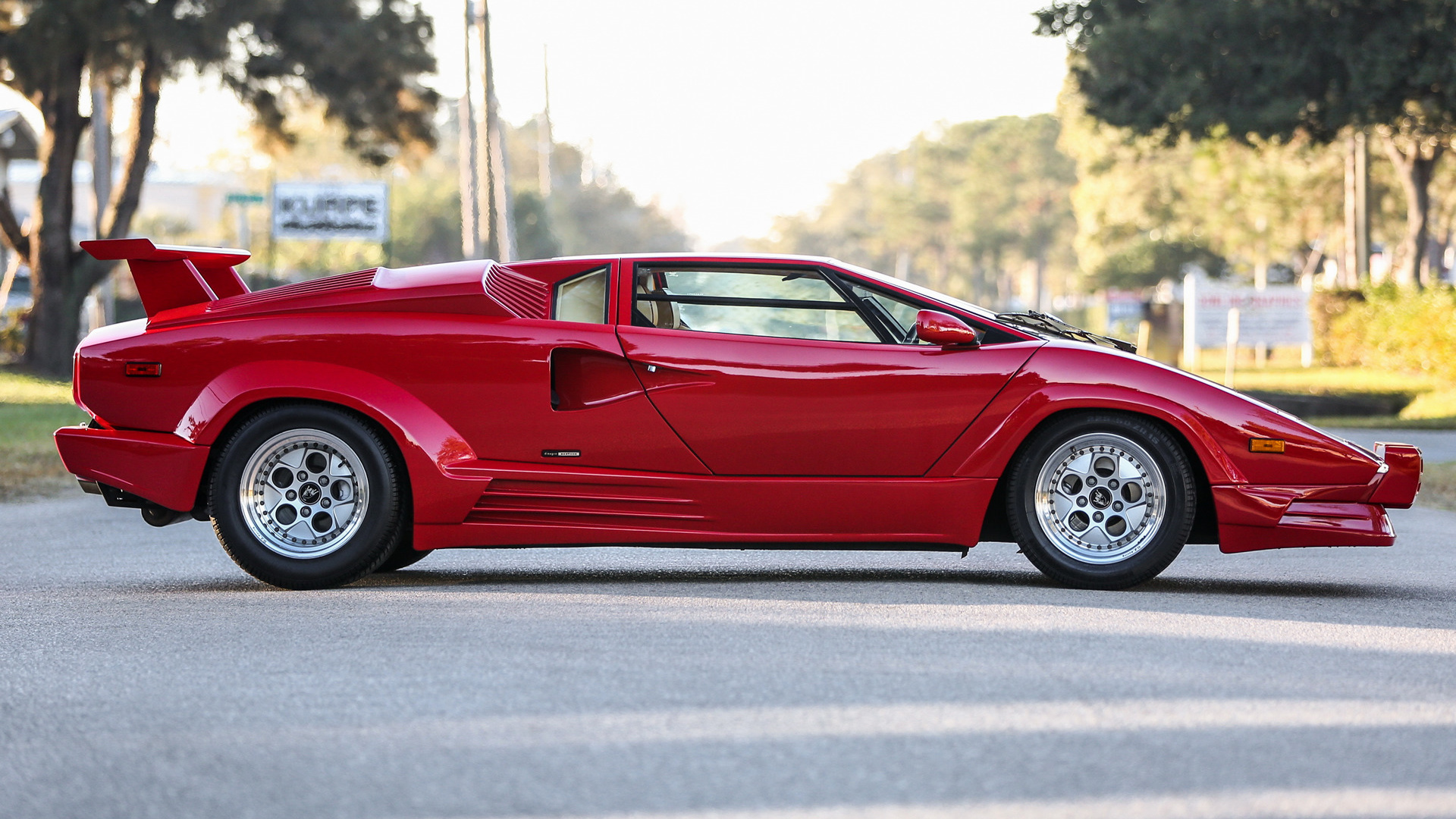 1988 Lamborghini Countach 25° Anniversario (US ...