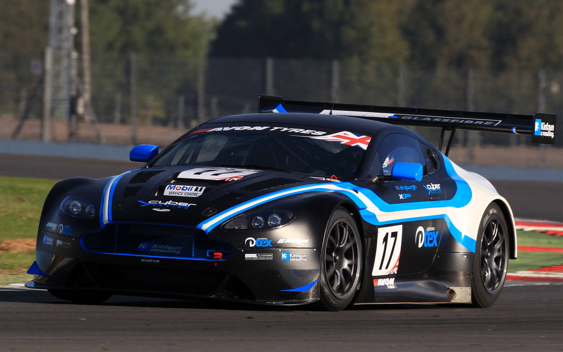 2012 Aston Martin Vantage Gt3 Wallpapers And Hd Images Car Pixel