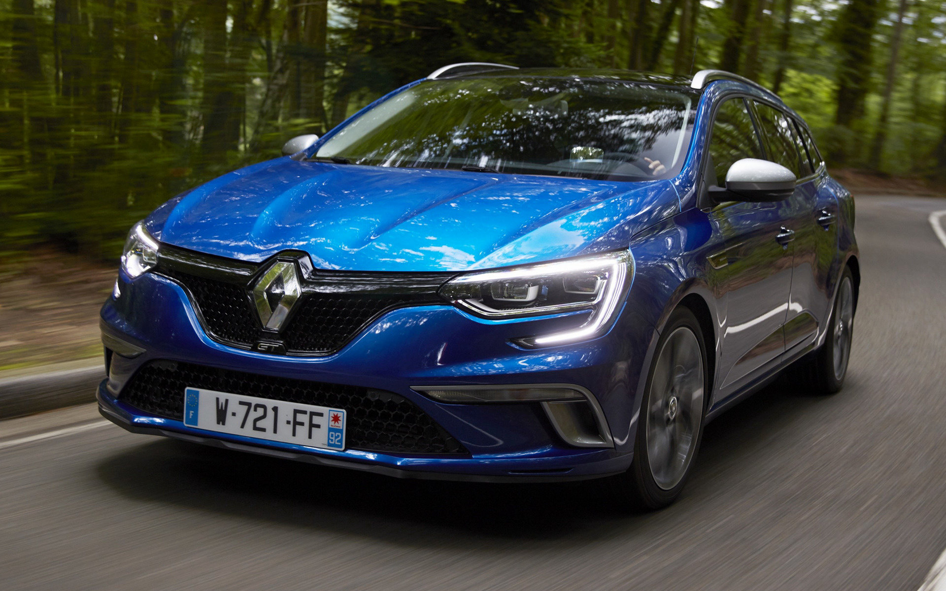 renault megane gt estate wallpapers  hd images car pixel