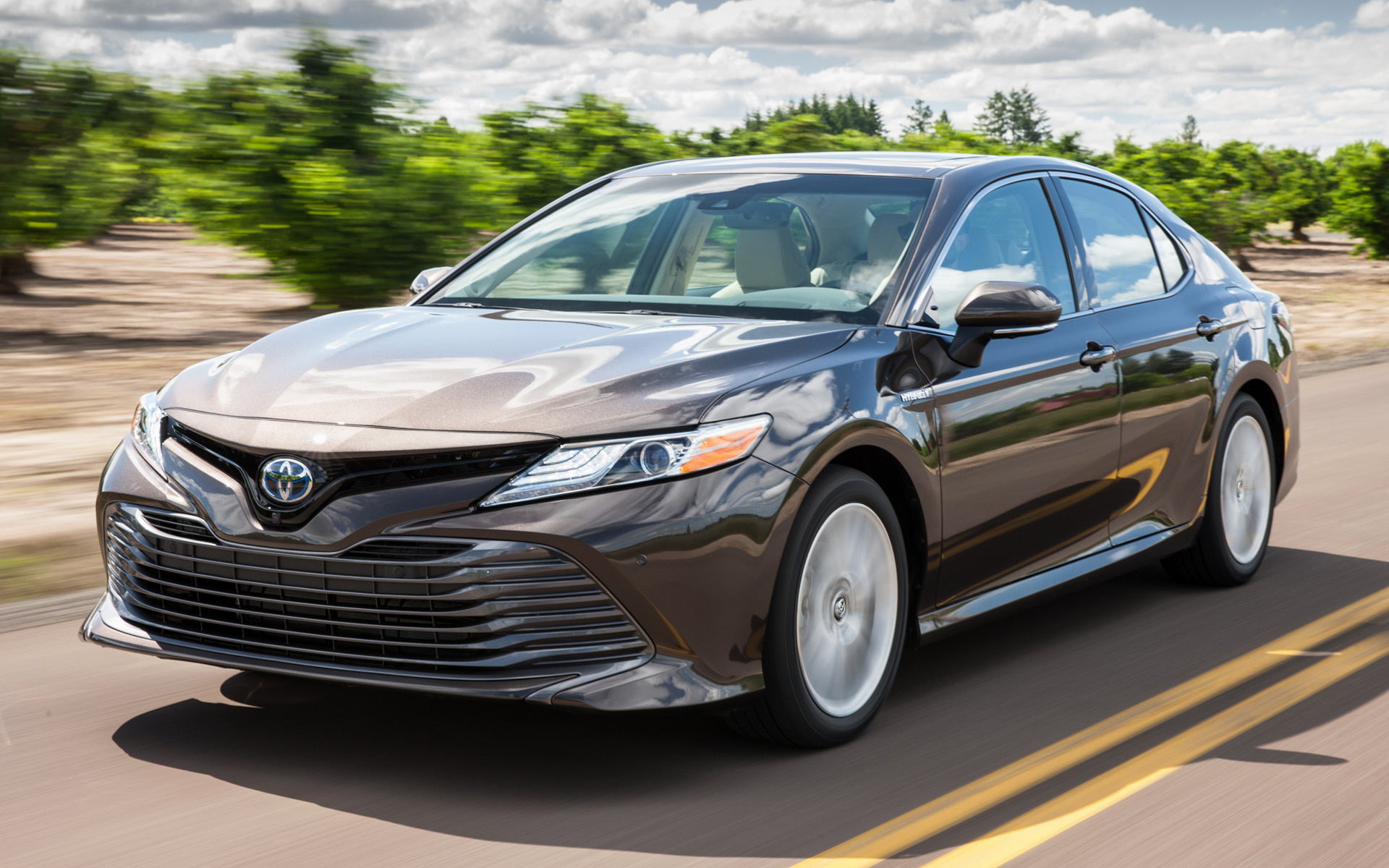 2018 Toyota Camry Hybrid XLE - Wallpapers and HD Images ...