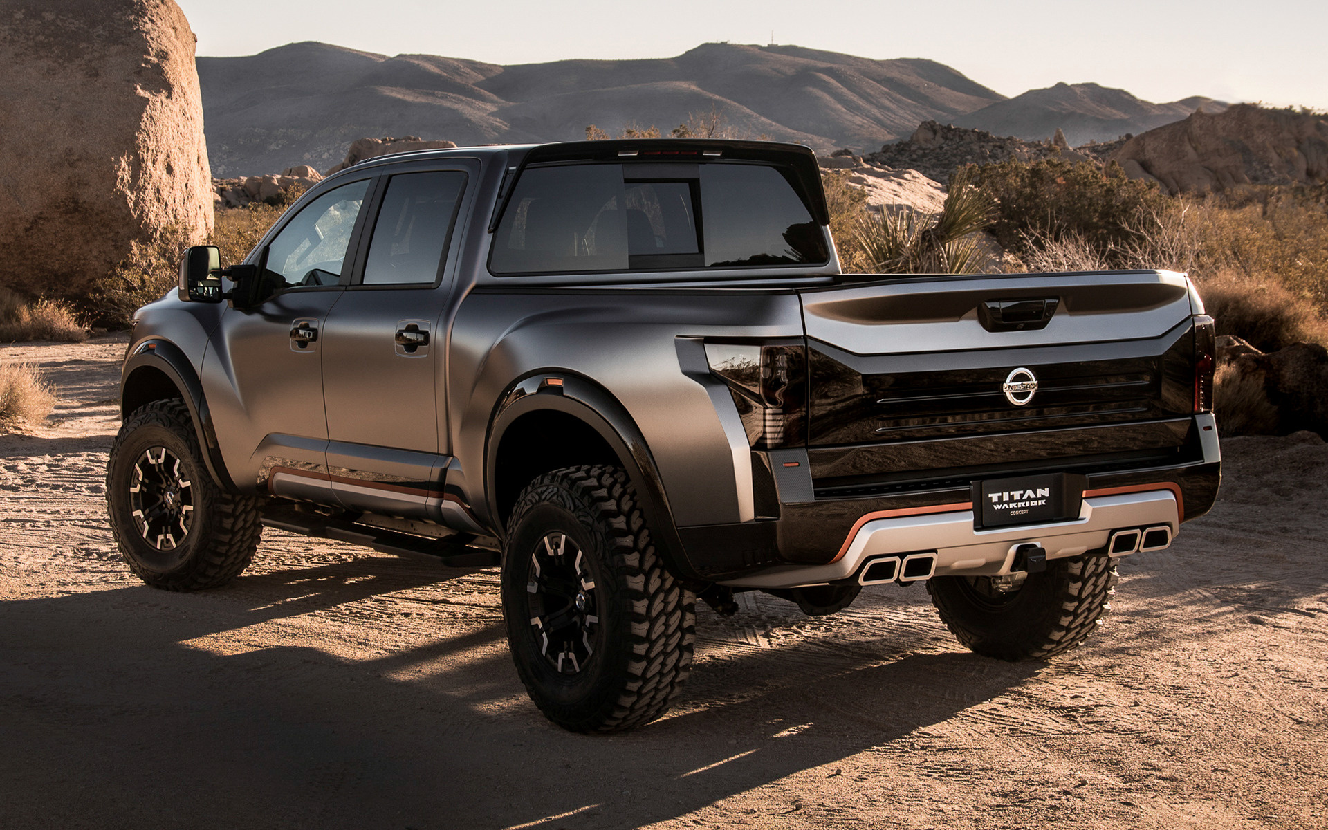 Chevrolet Pick Up >> 2016 Nissan Titan Warrior Concept - Wallpapers and HD Images | Car Pixel