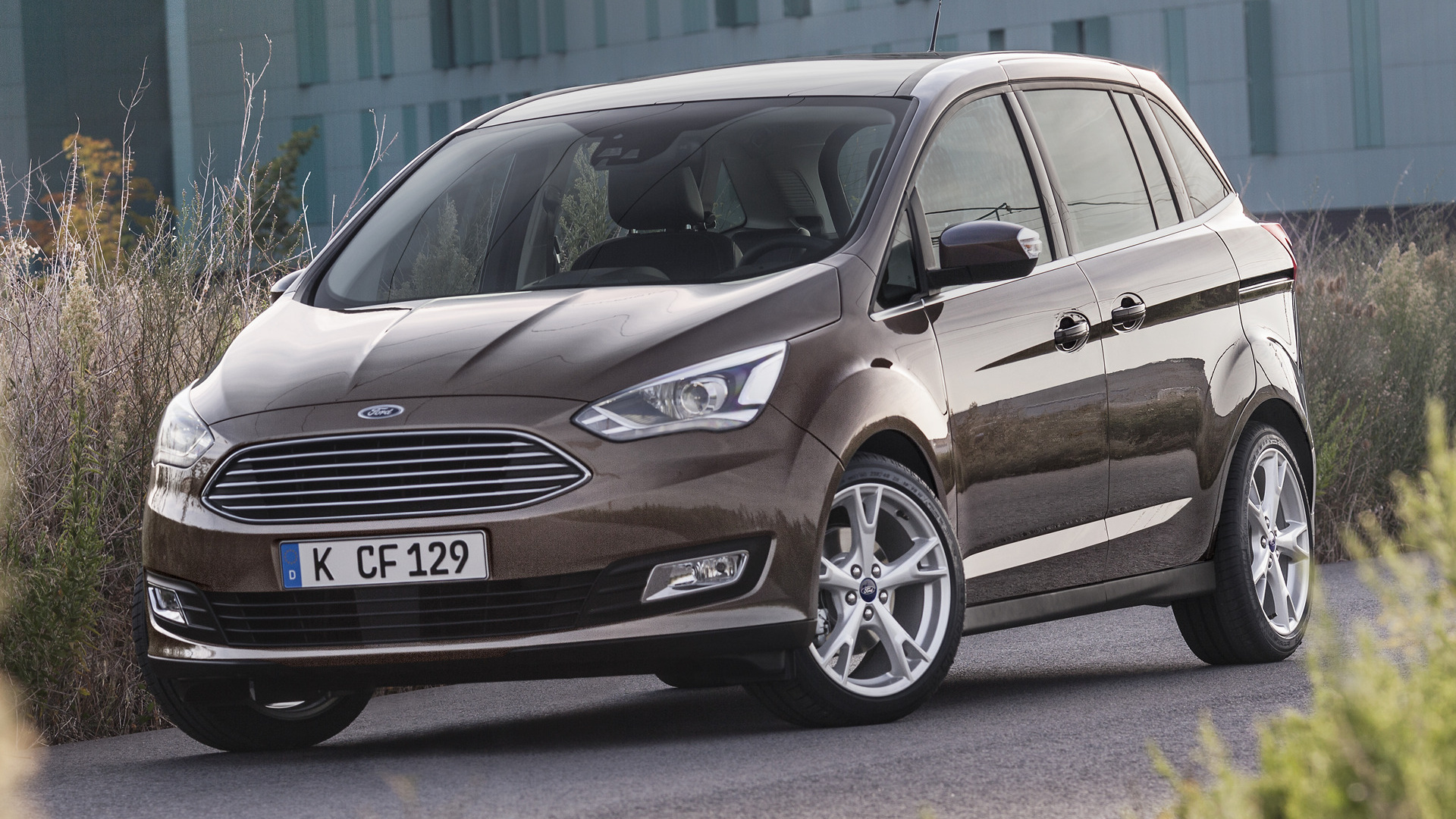 ford grand c max 2015 wallpapers and hd images car pixel. Black Bedroom Furniture Sets. Home Design Ideas