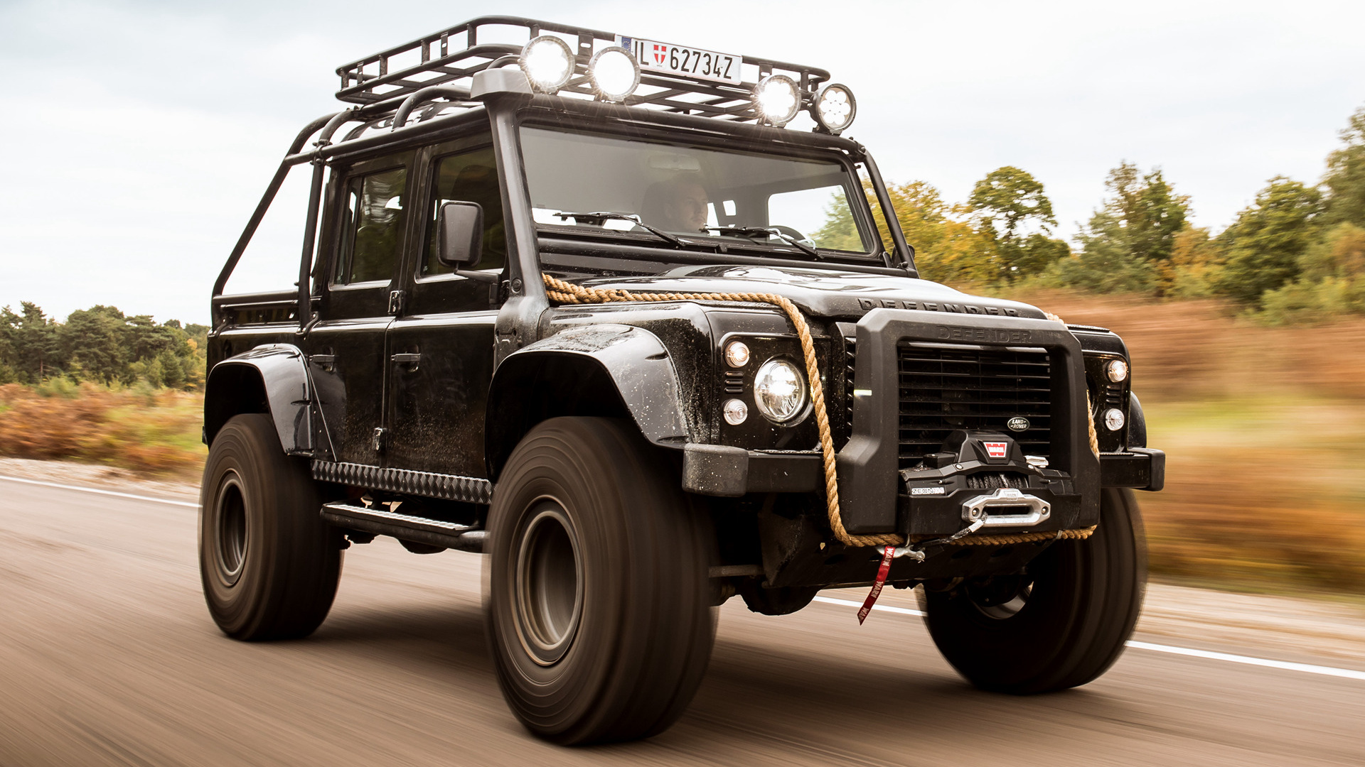 ... Rover Defender 007 Spectre (2015) Wallpapers and HD Images - Car Pixel