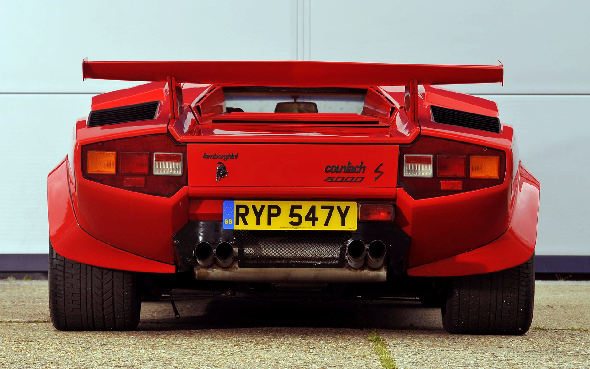 Lamborghini Countach Lp500 S 1982 Uk Wallpapers And Hd