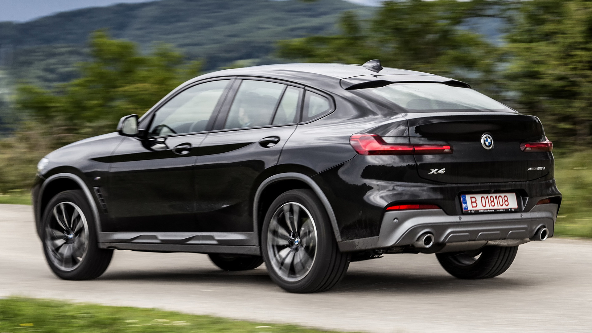 2018 bmw x4 m sport x wallpapers and hd images car pixel. Black Bedroom Furniture Sets. Home Design Ideas