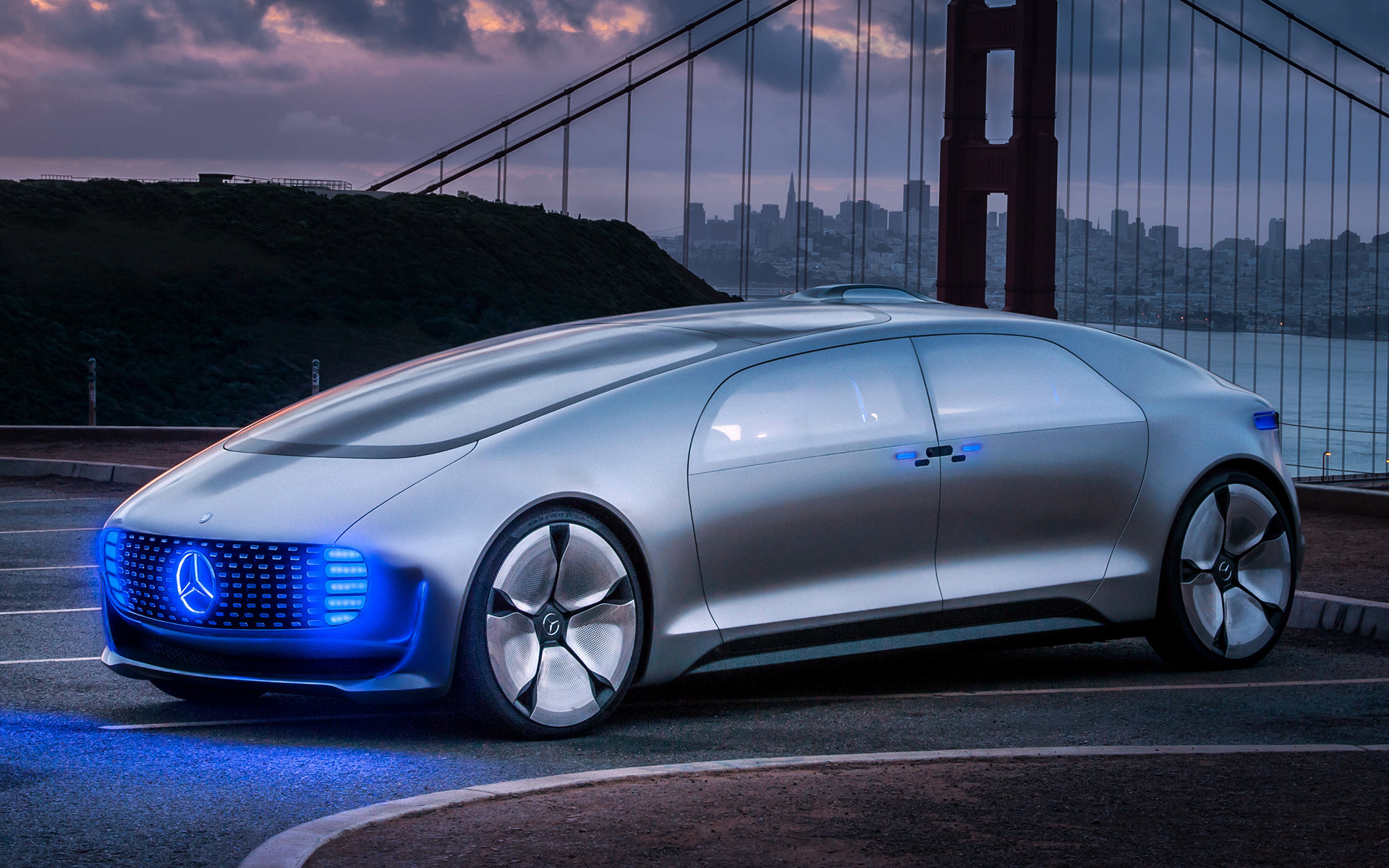 2015 Mercedes Benz F 015 Luxury In Motion Wallpapers And