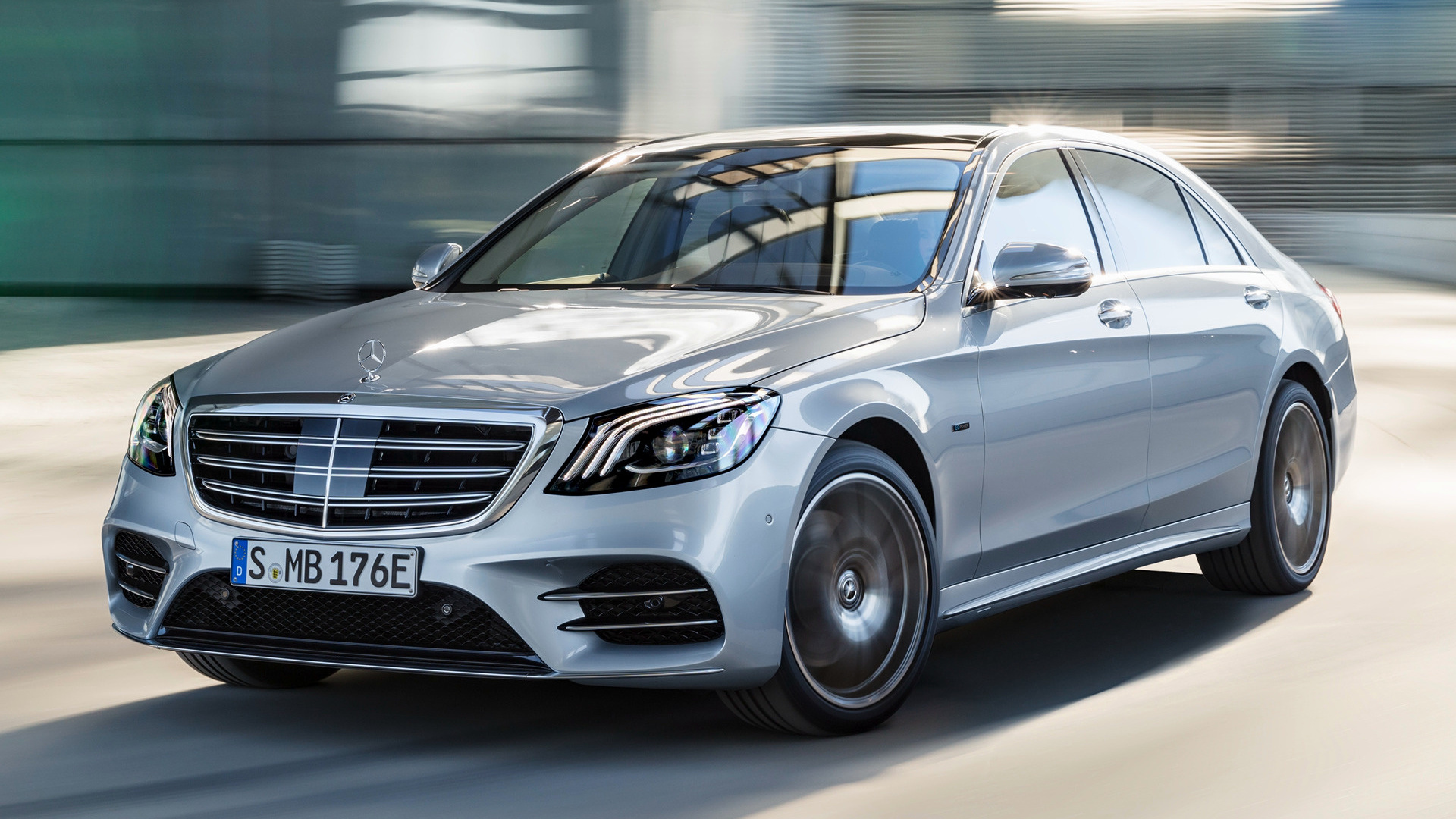 2017 Mercedes Benz S Class Plug In Hybrid Amg Line Long