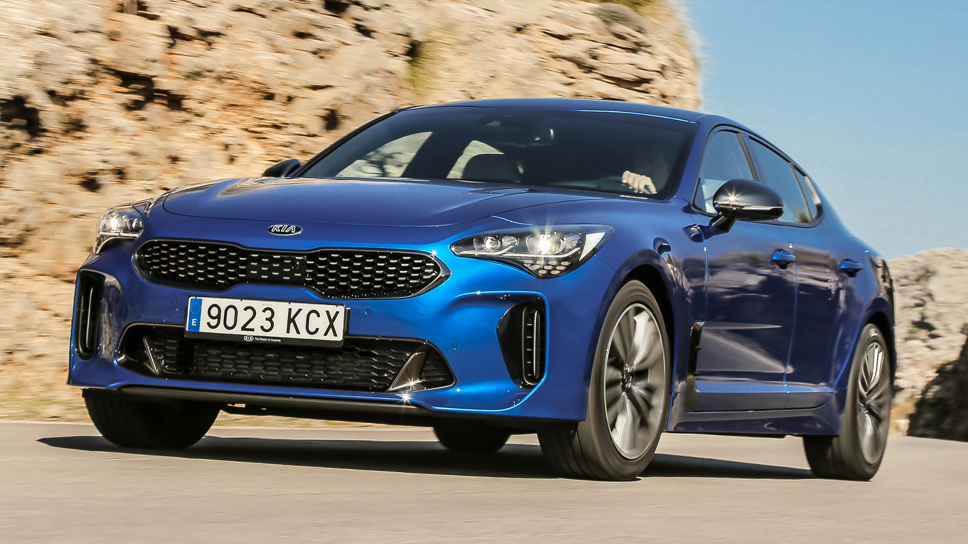 Kia Stinger Gt >> 2017 Kia Stinger GT-Line - Wallpapers and HD Images | Car ...