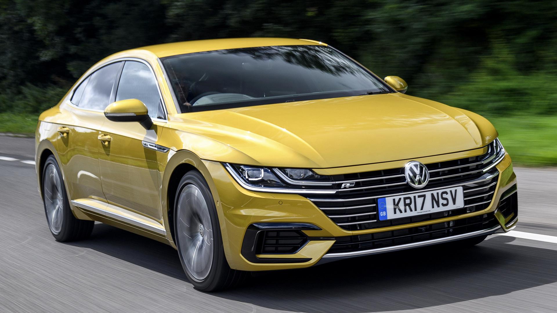 Volkswagen Arteon R Line 2017 UK Wallpapers and HD