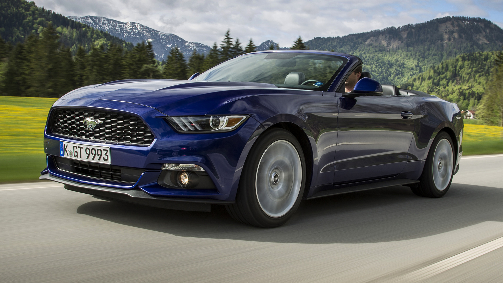 2015 Ford Mustang EcoBoost Convertible (EU) - Wallpapers ...