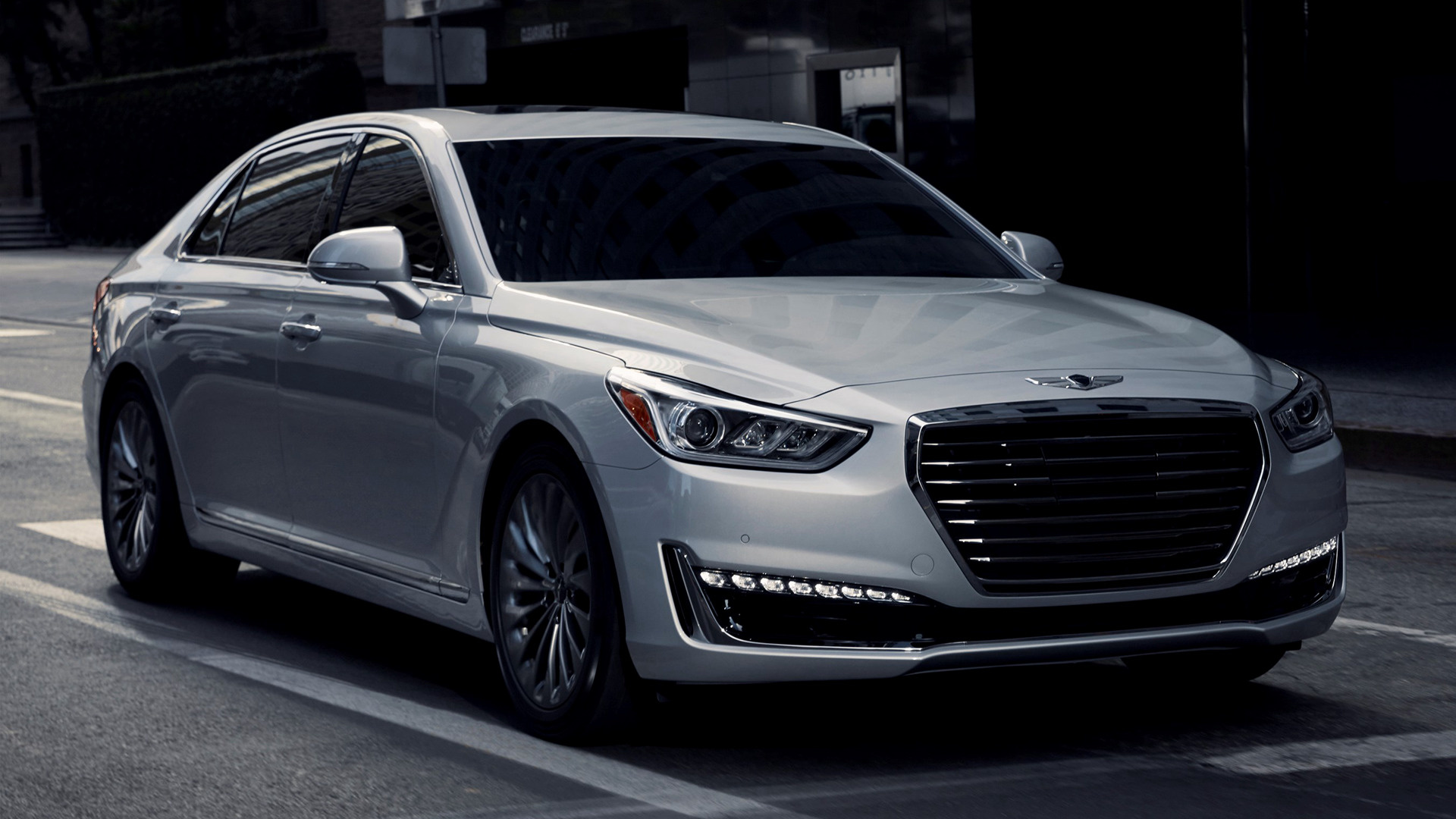 Mercedes Benz Logo >> 2017 Genesis G90 - Wallpapers and HD Images | Car Pixel