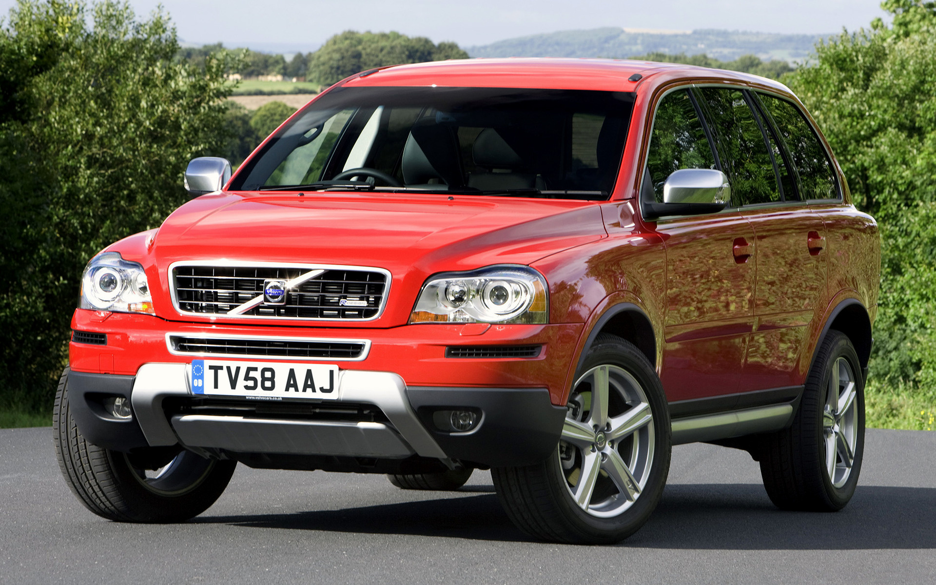 2008 Volvo Xc90 V8 R Design Uk Wallpapers And Hd
