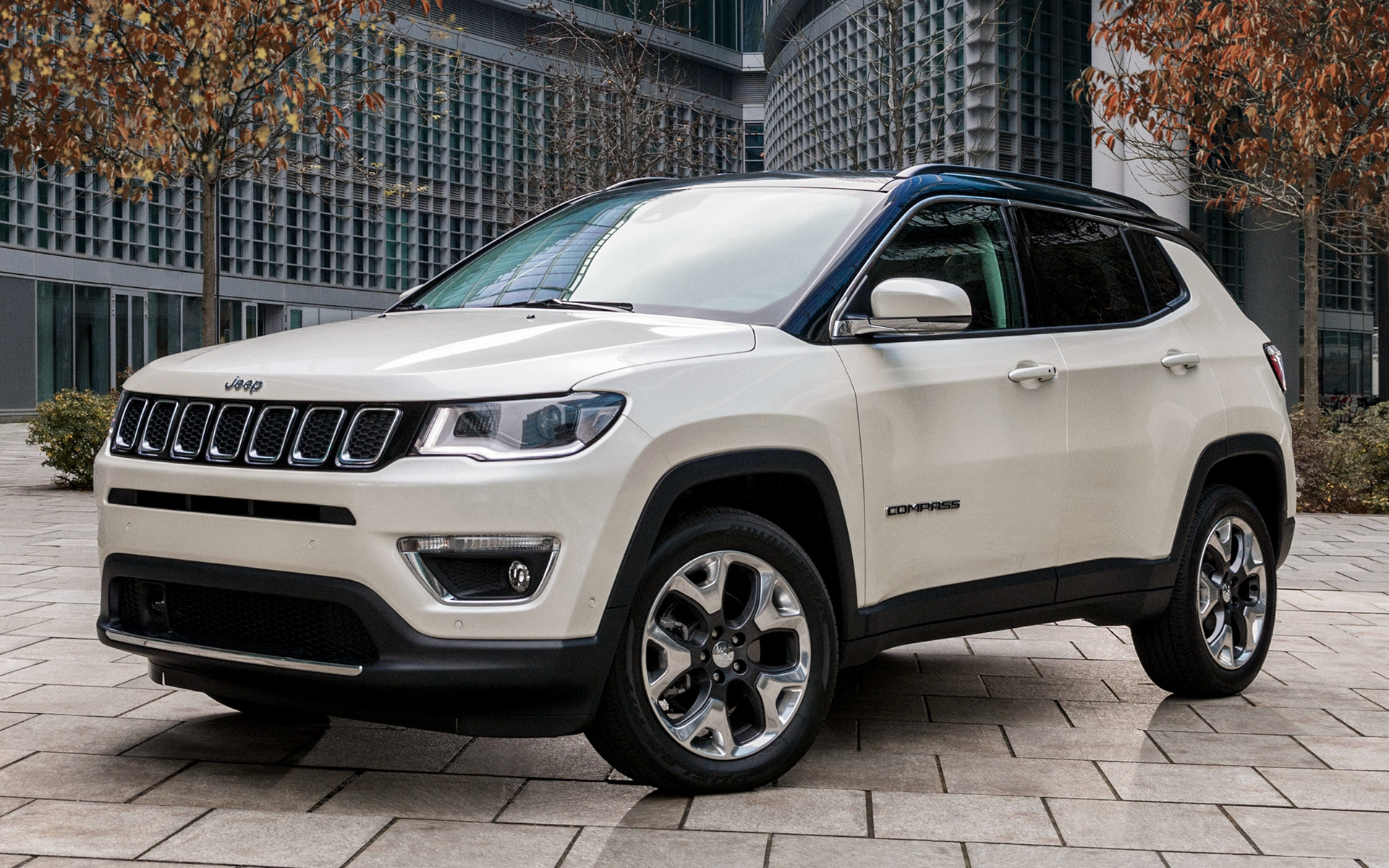 jeep compass limited 2017 eu wallpapers and hd images car pixel. Black Bedroom Furniture Sets. Home Design Ideas