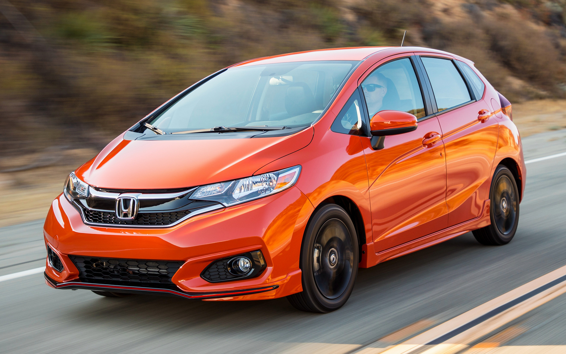 2018 Honda Fit Sport Wallpapers And Hd Images Car Pixel