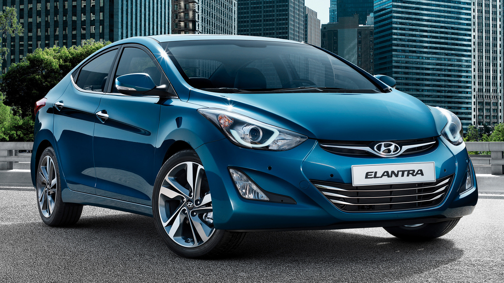 Hyundai Elantra Coupe >> 2014 Hyundai Elantra - Wallpapers and HD Images | Car Pixel