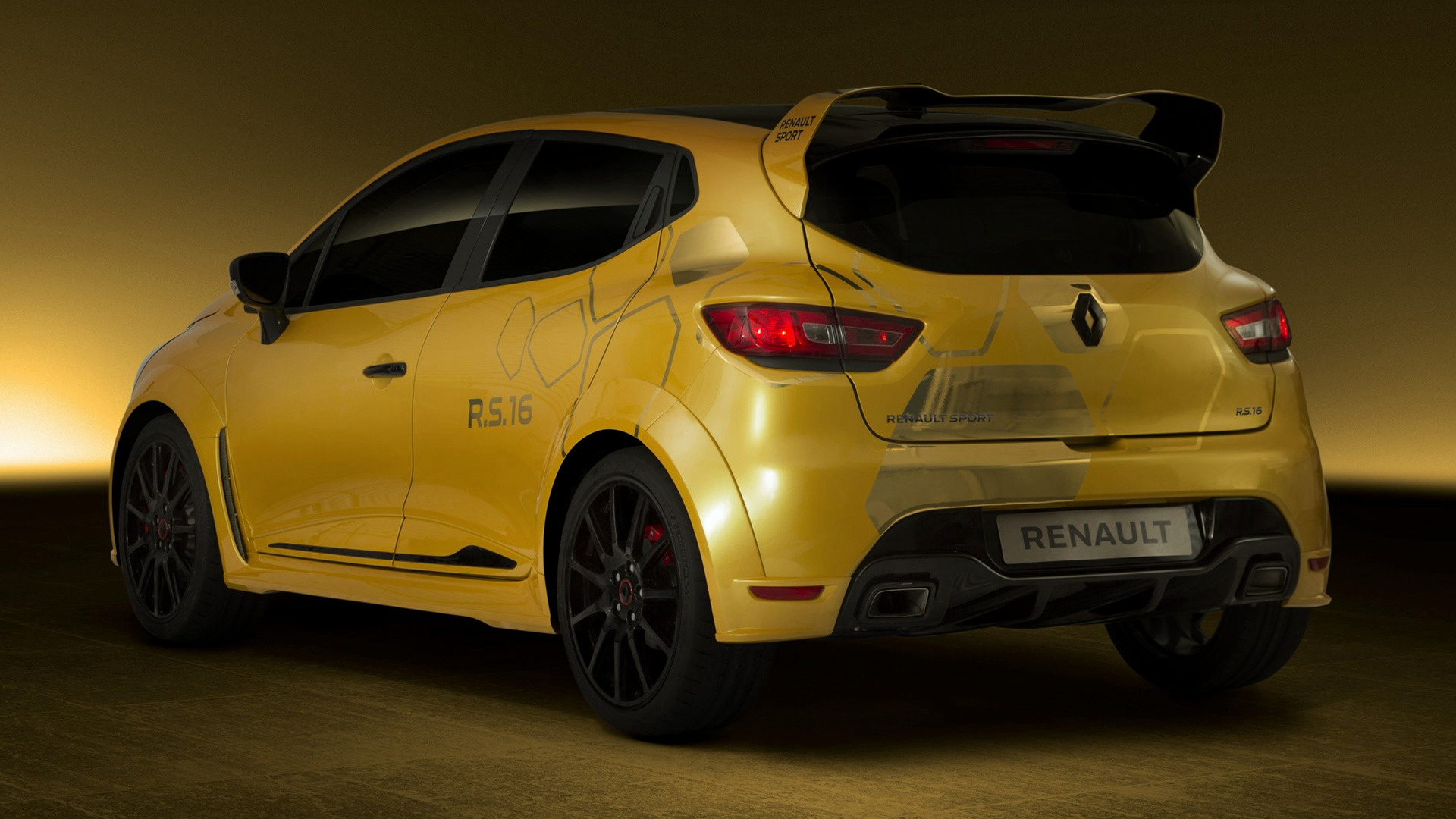 renault clio rs 16 concept 2016 wallpapers and hd images car pixel. Black Bedroom Furniture Sets. Home Design Ideas
