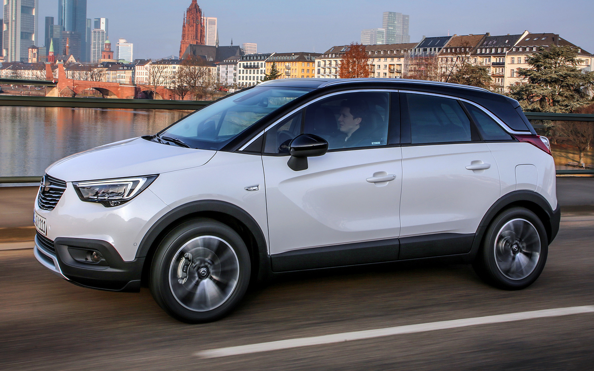 2017 opel crossland x wallpapers and hd images car pixel. Black Bedroom Furniture Sets. Home Design Ideas