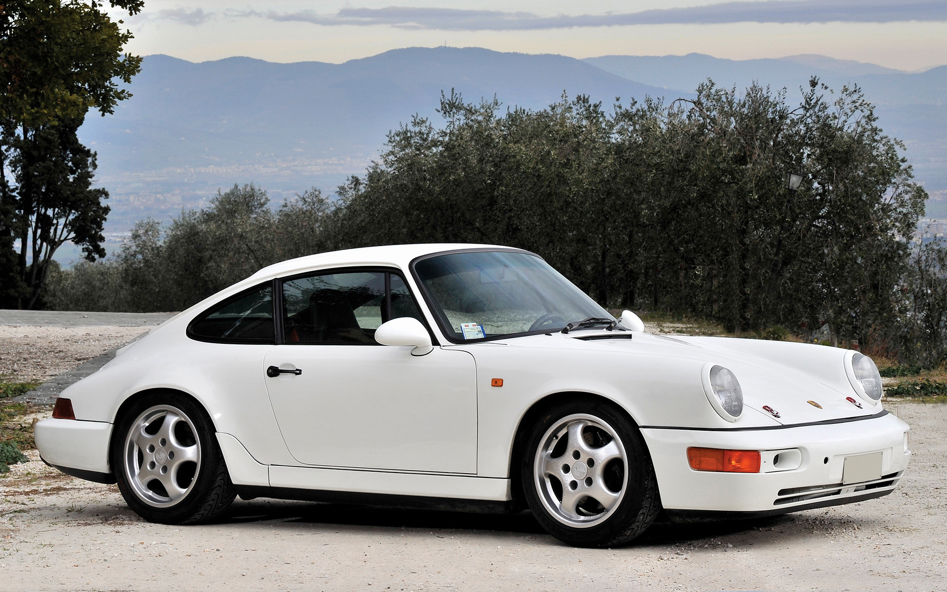 1991 Porsche 911 Carrera Rs Lightweight Wallpapers And