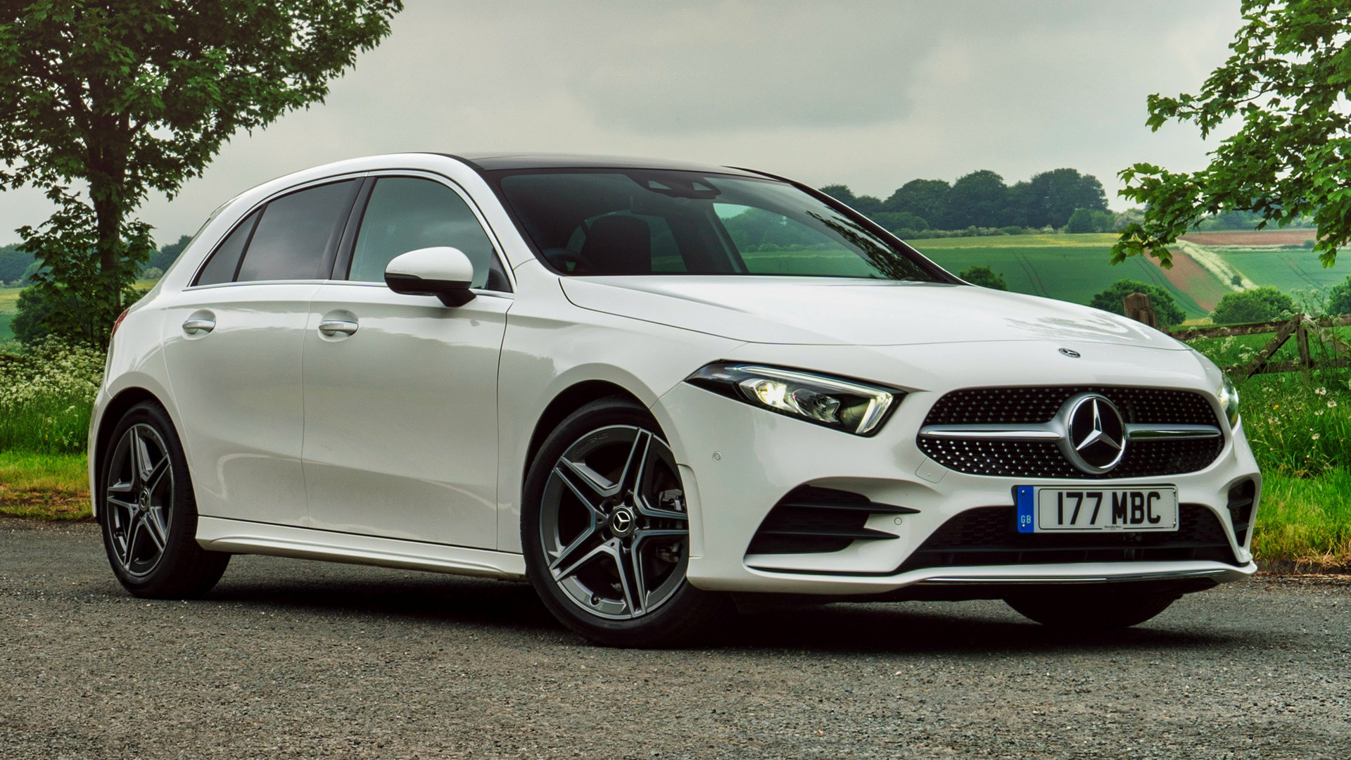 2018 Mercedes-Benz A-Class AMG Line (UK) - Wallpapers and ...
