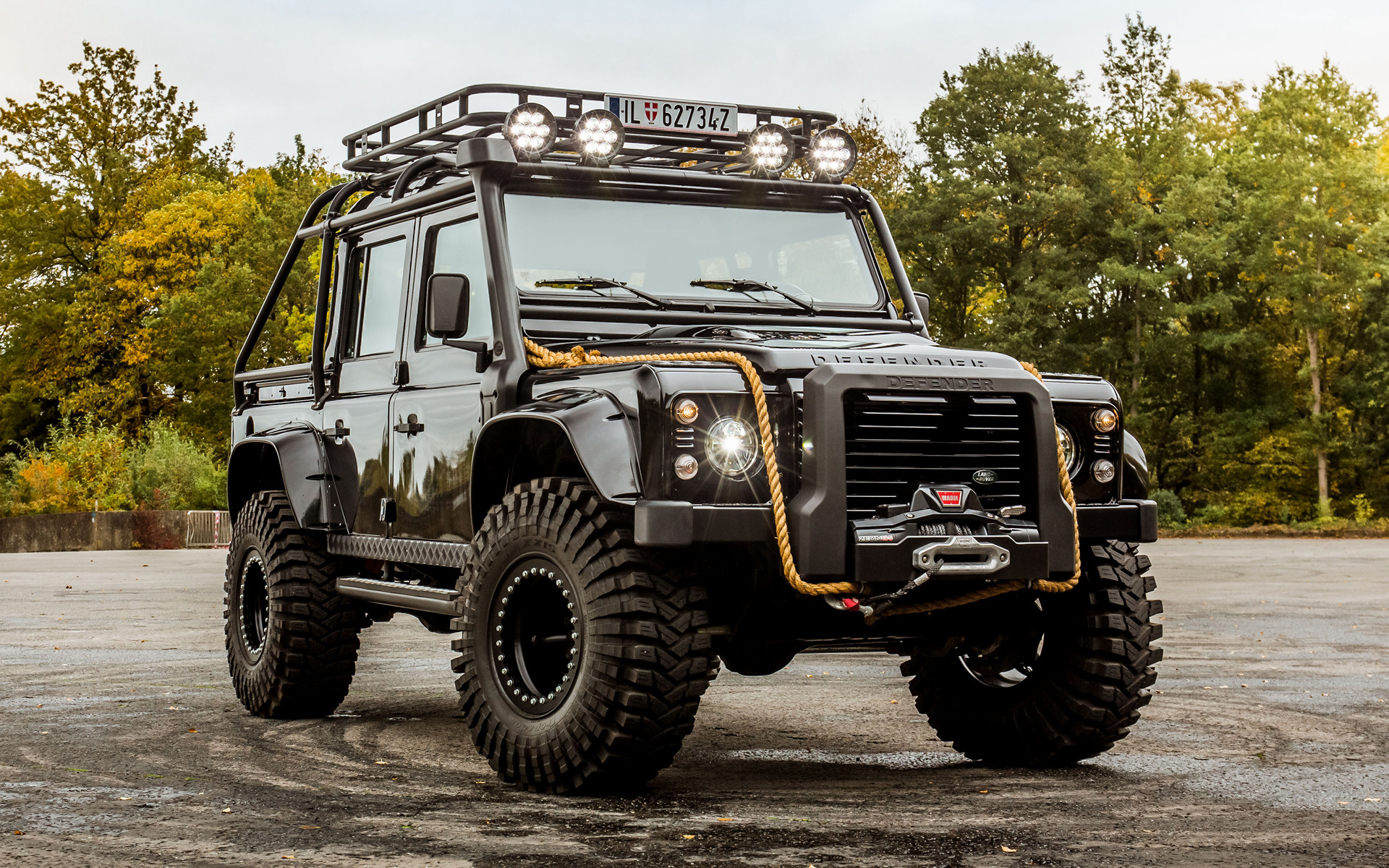 Land Rover Defender 007 Spectre 2015 Wallpapers And Hd